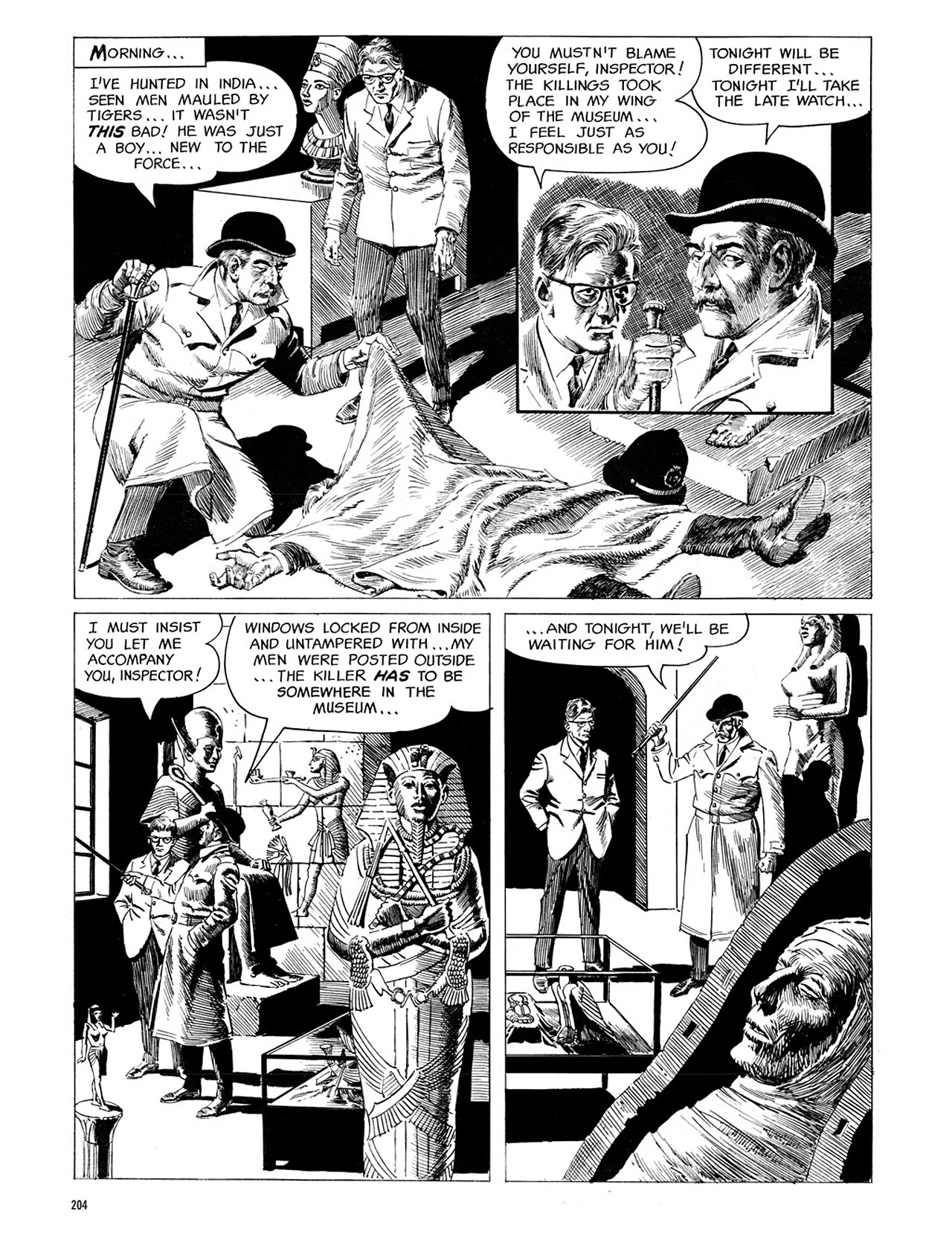 Read online Eerie Archives comic -  Issue # TPB 1 - 205