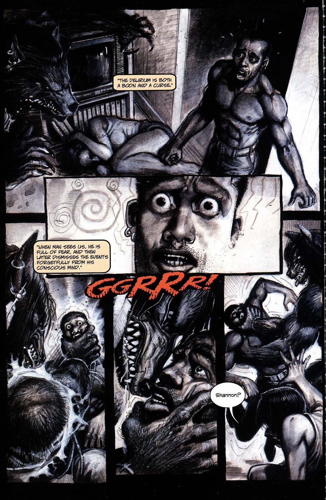 Read online Werewolf the Apocalypse comic -  Issue # Black Furies - 6