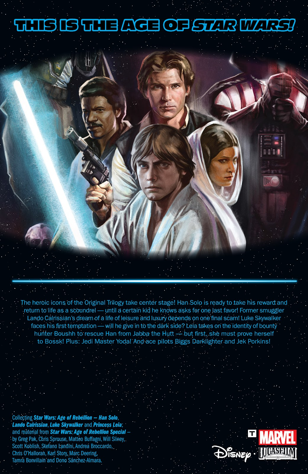 Read online Star Wars: Age of Rebellion - Heroes comic -  Issue # TPB - 130