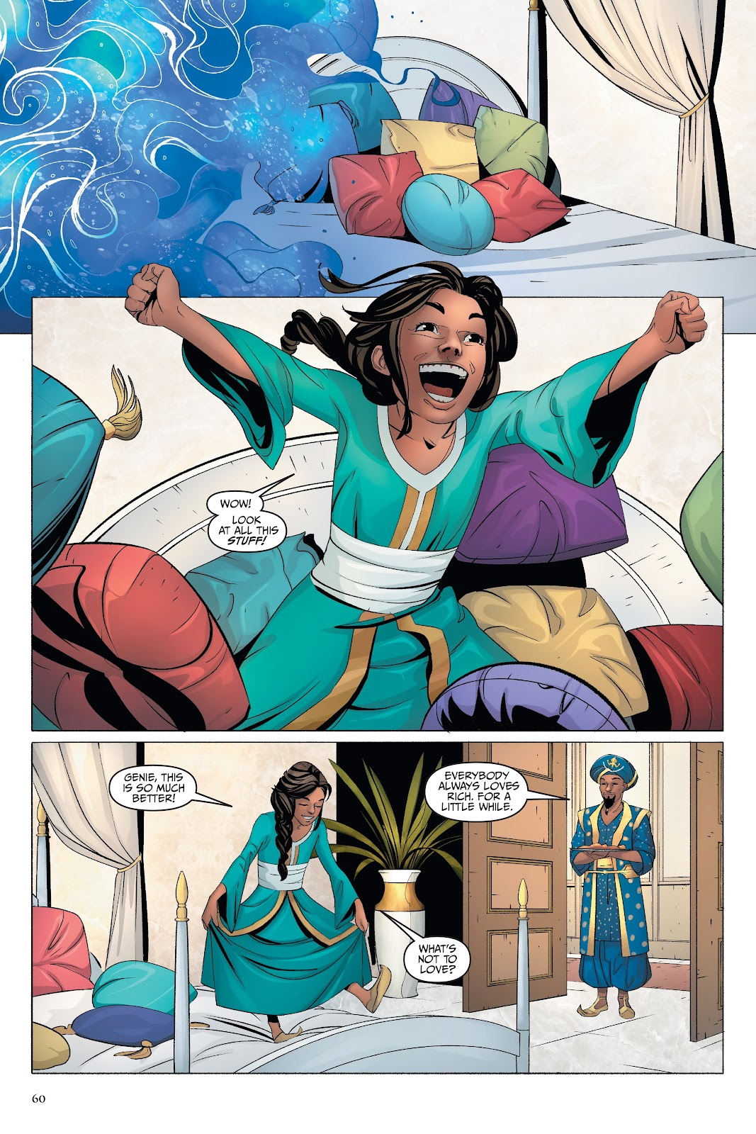 Read online Disney Aladdin: Four Tales of Agrabah comic -  Issue # TPB - 60