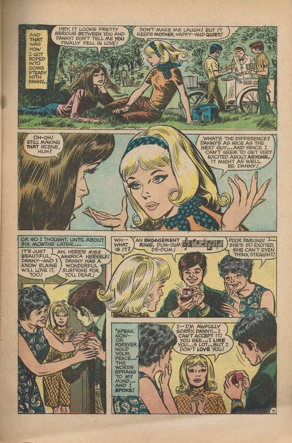 Read online Secret Hearts comic -  Issue #151 - 9