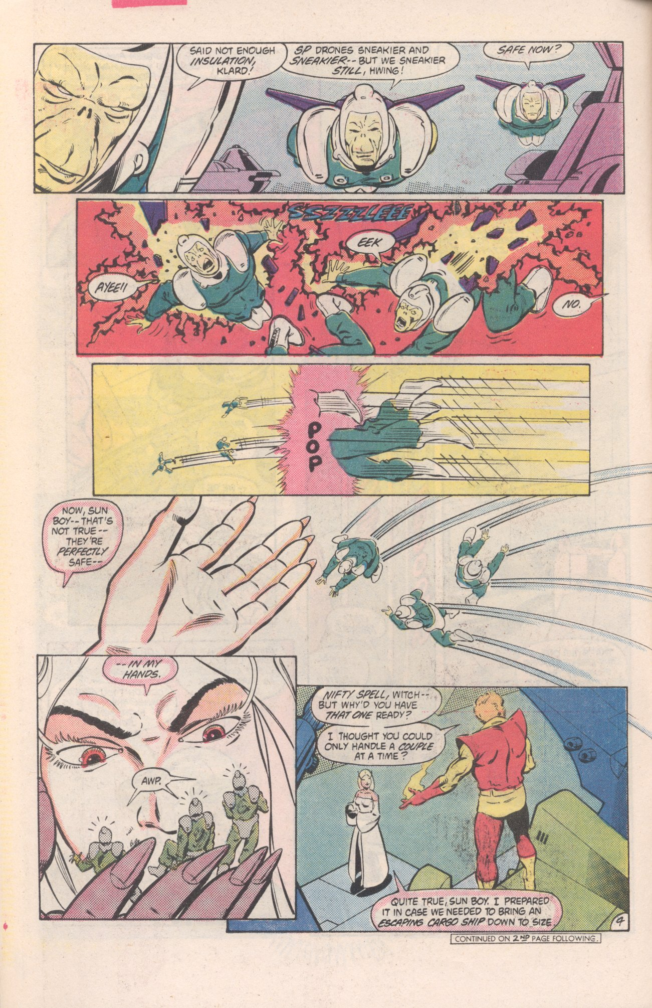 Legion of Super-Heroes (1980) 313 Page 4