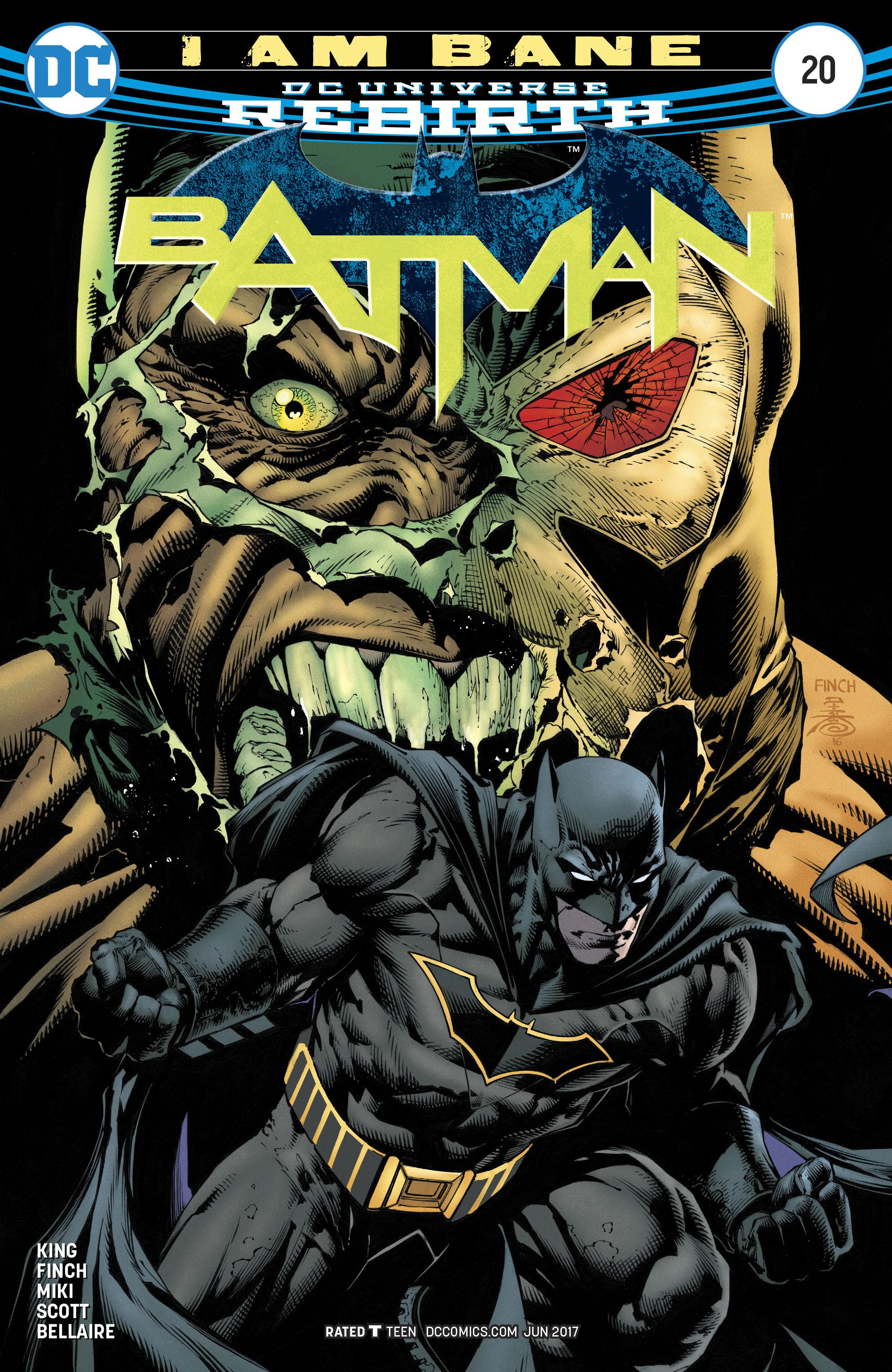 Batman (2016) 20 Page 1