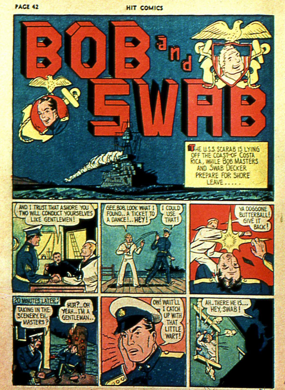 Read online Hit Comics comic -  Issue #2 - 44