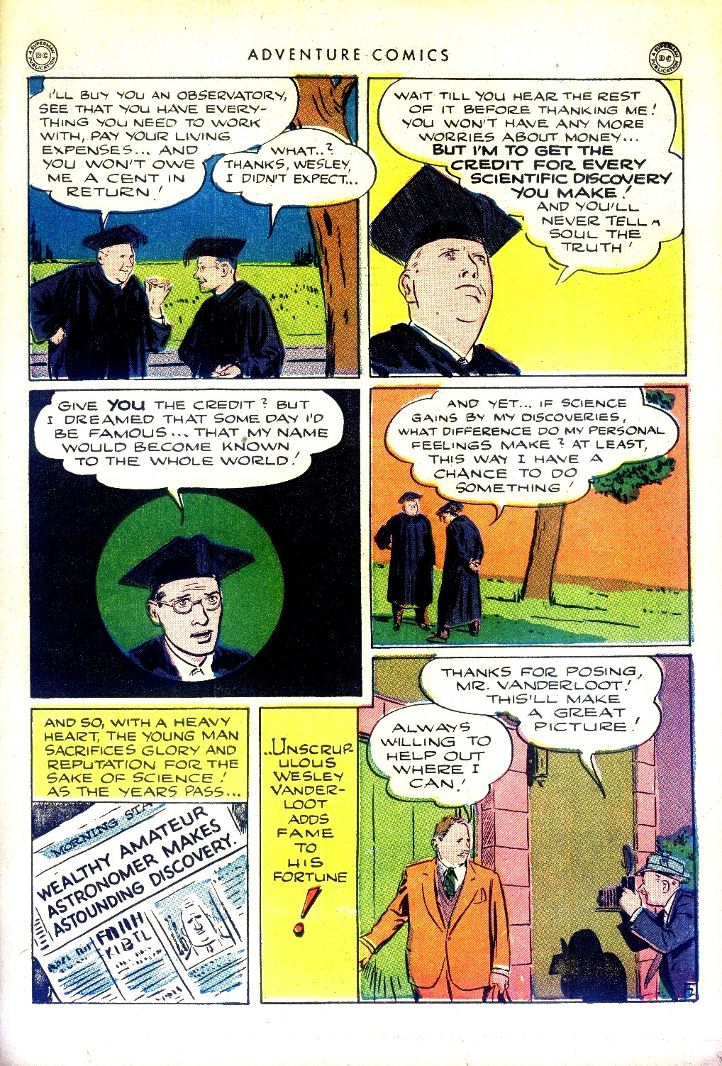 Read online Adventure Comics (1938) comic -  Issue #97 - 33