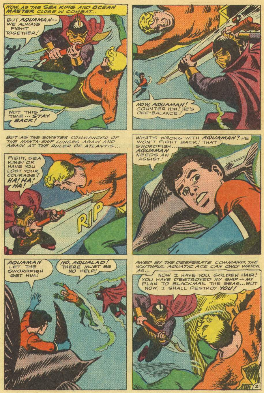 Read online Aquaman (1962) comic -  Issue #29 - 28