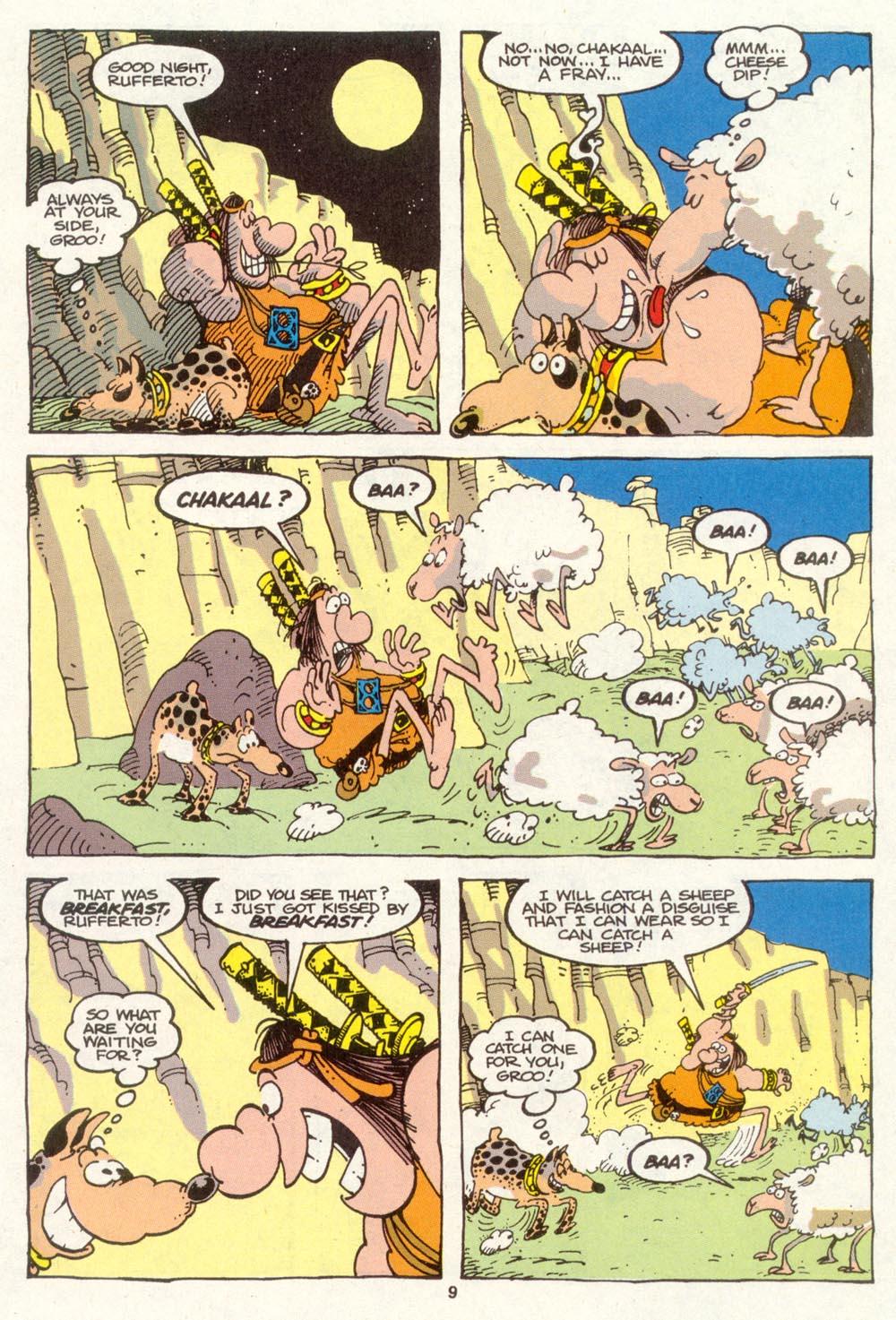 Read online Sergio Aragonés Groo the Wanderer comic -  Issue #88 - 10