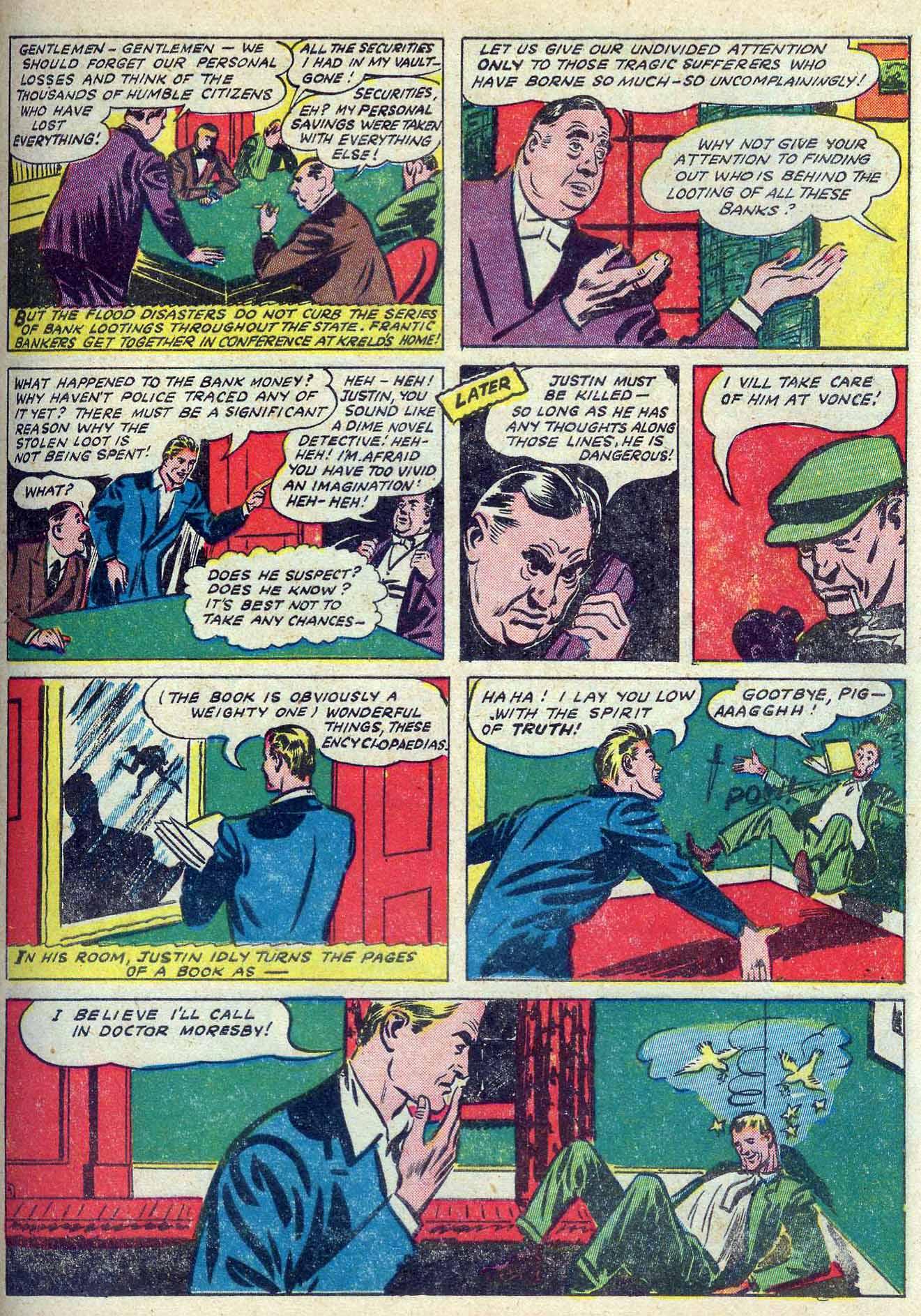 Read online Adventure Comics (1938) comic -  Issue #70 - 23