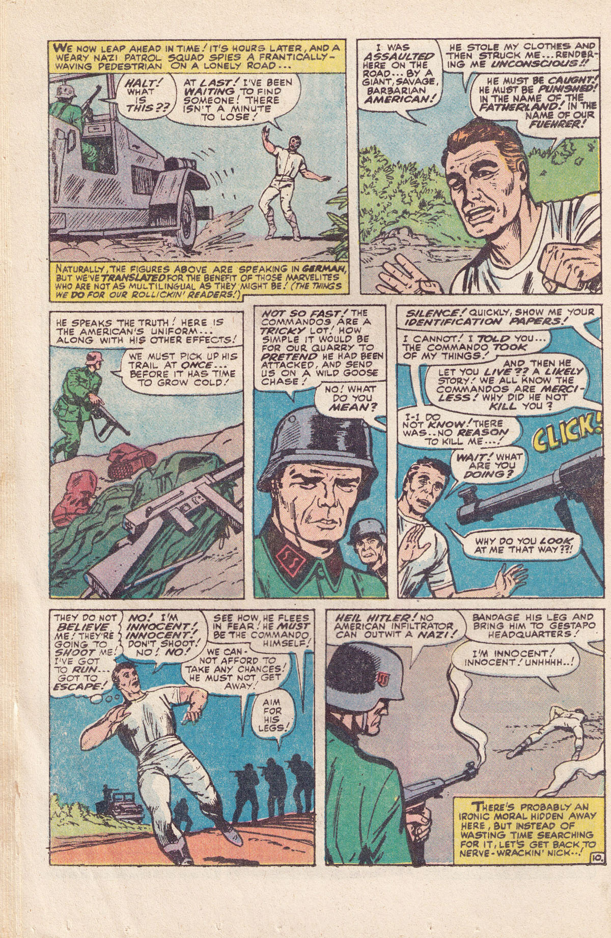 Read online Sgt. Fury comic -  Issue #89 - 16
