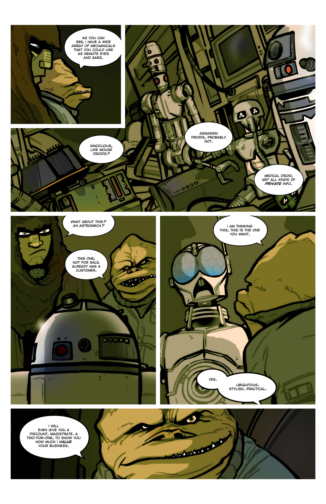 Read online Star Wars: Tales From The Clone Wars comic -  Issue # TPB - 51