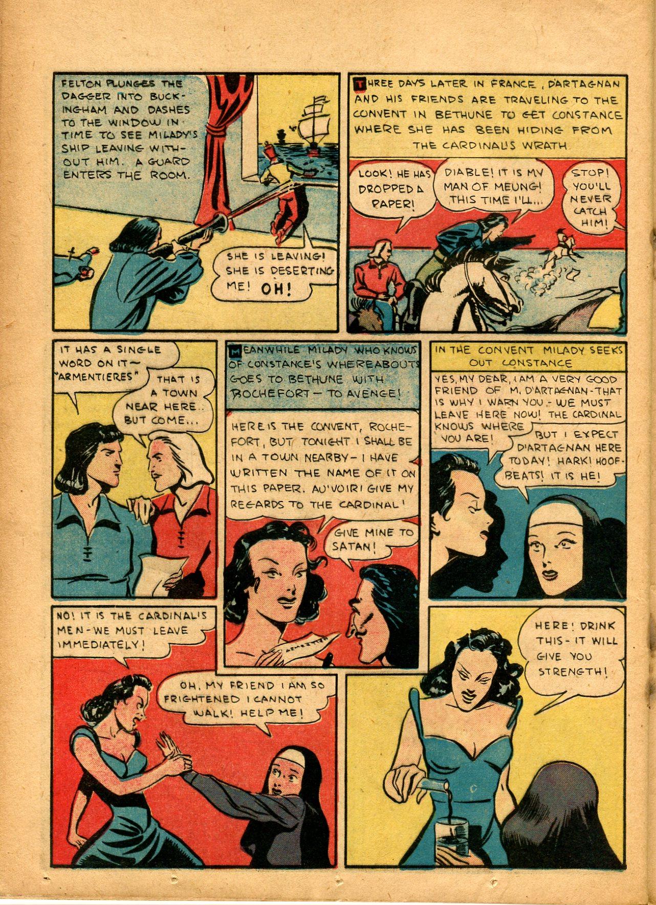 Read online Shadow Comics comic -  Issue #8 - 46