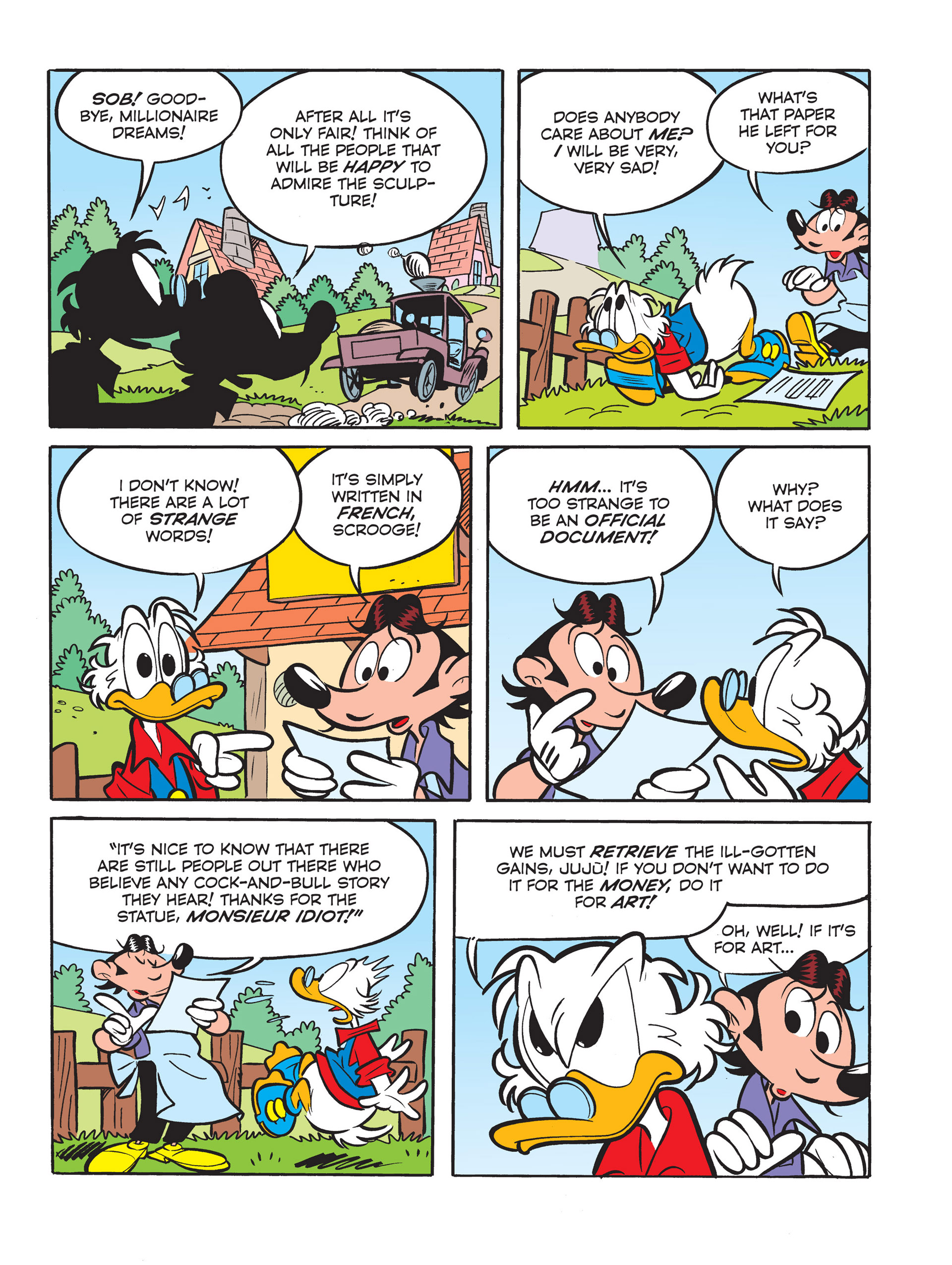 Read online All of Scrooge McDuck's Millions comic -  Issue #6 - 13