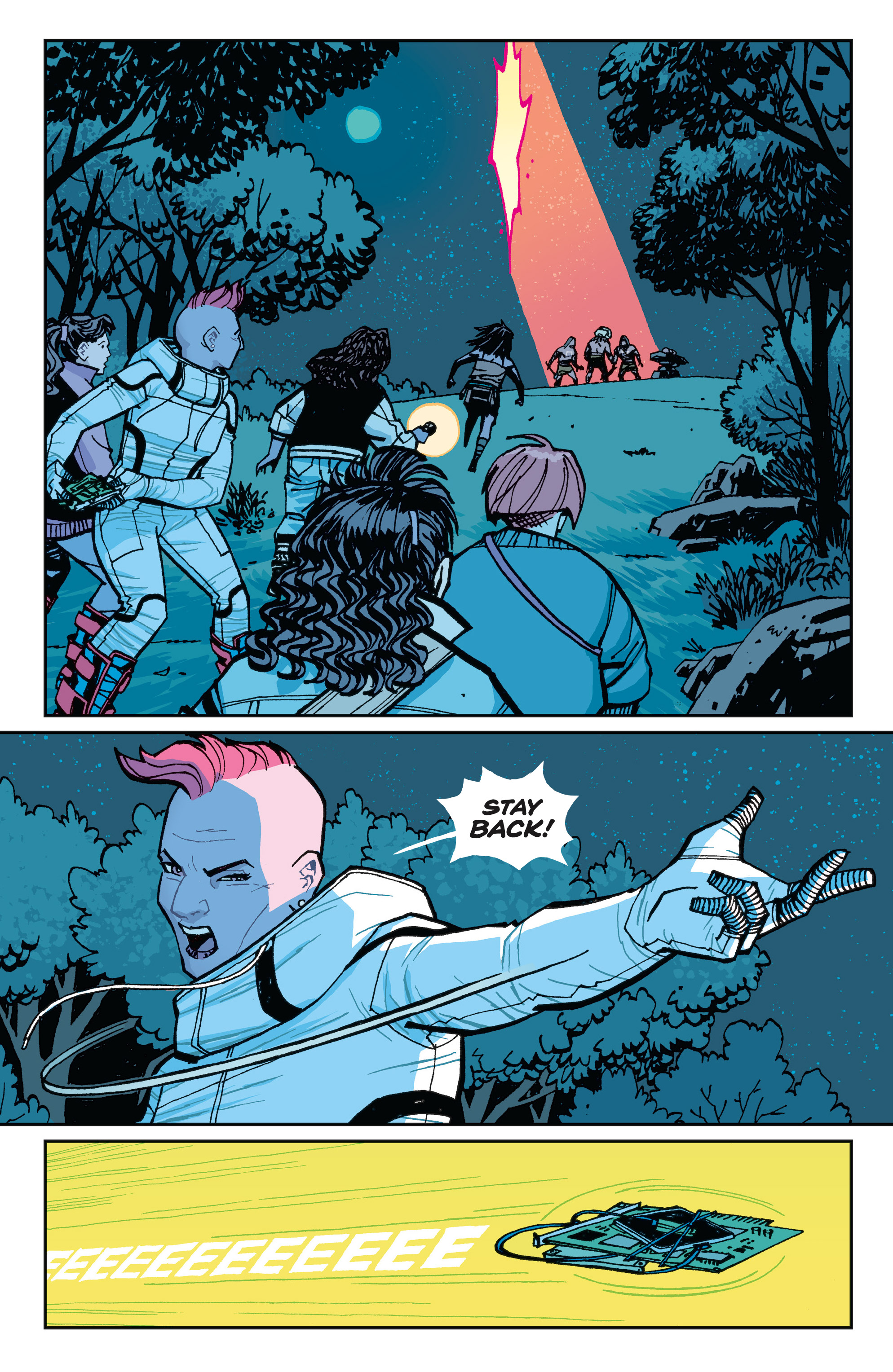 Read online Paper Girls comic -  Issue #15 - 17