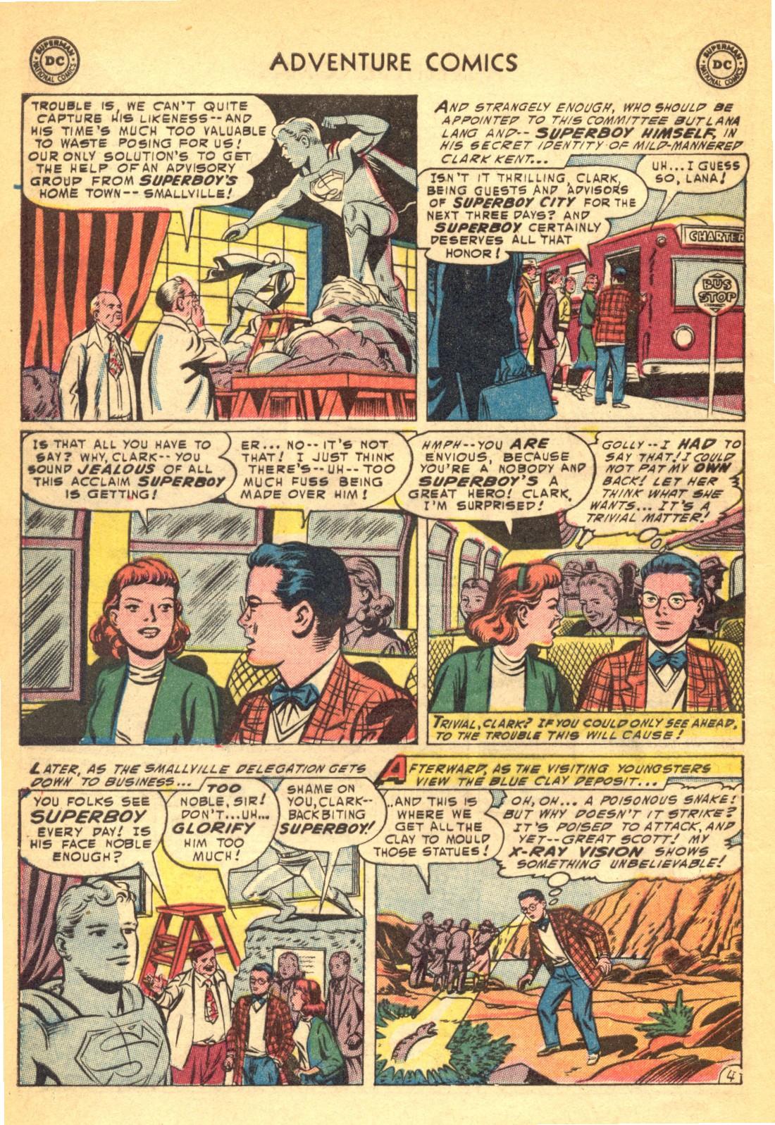 Read online Adventure Comics (1938) comic -  Issue #202 - 6