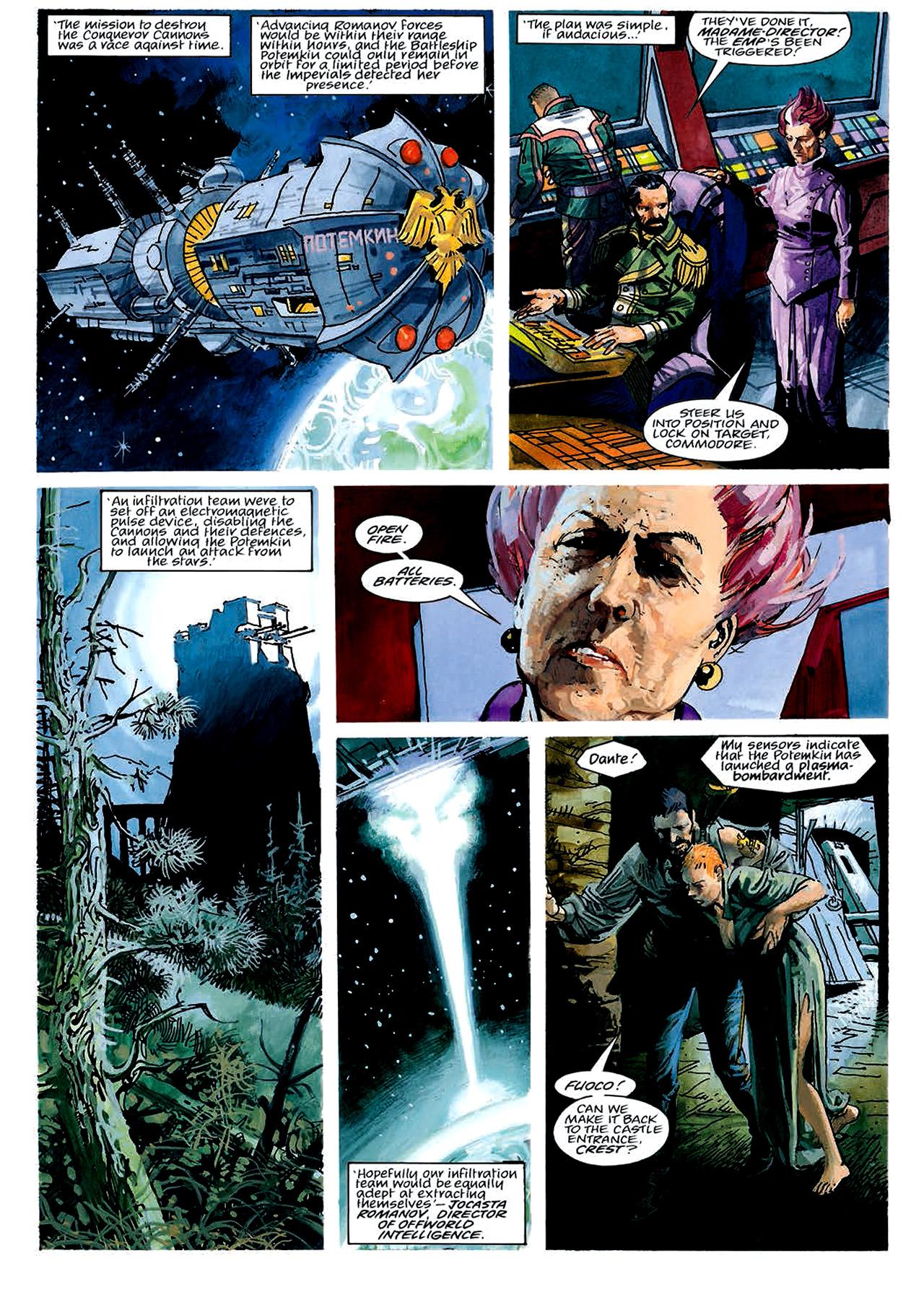 Read online Nikolai Dante comic -  Issue # TPB 4 - 46