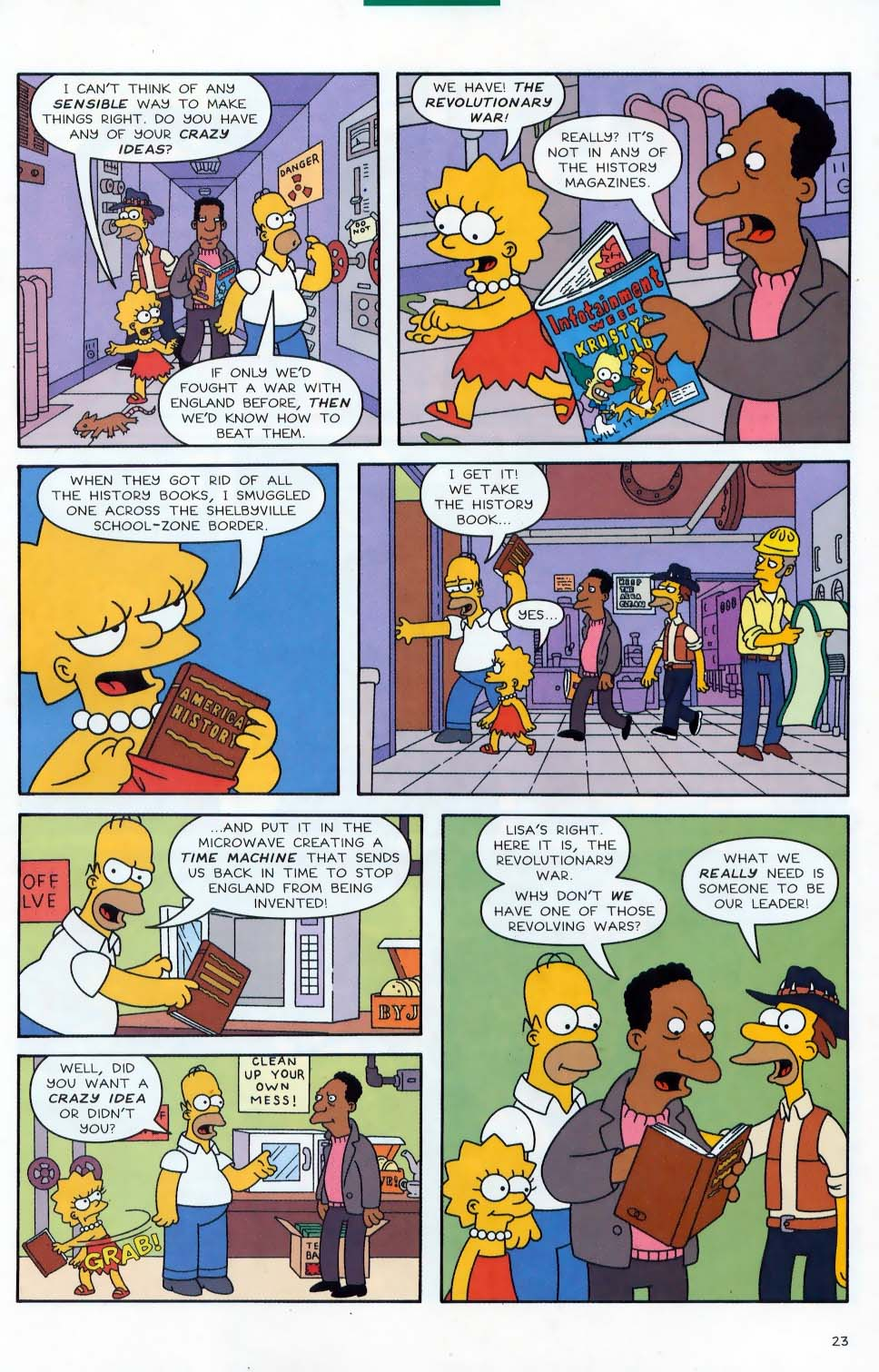 Read online Simpsons Comics comic -  Issue #87 - 24