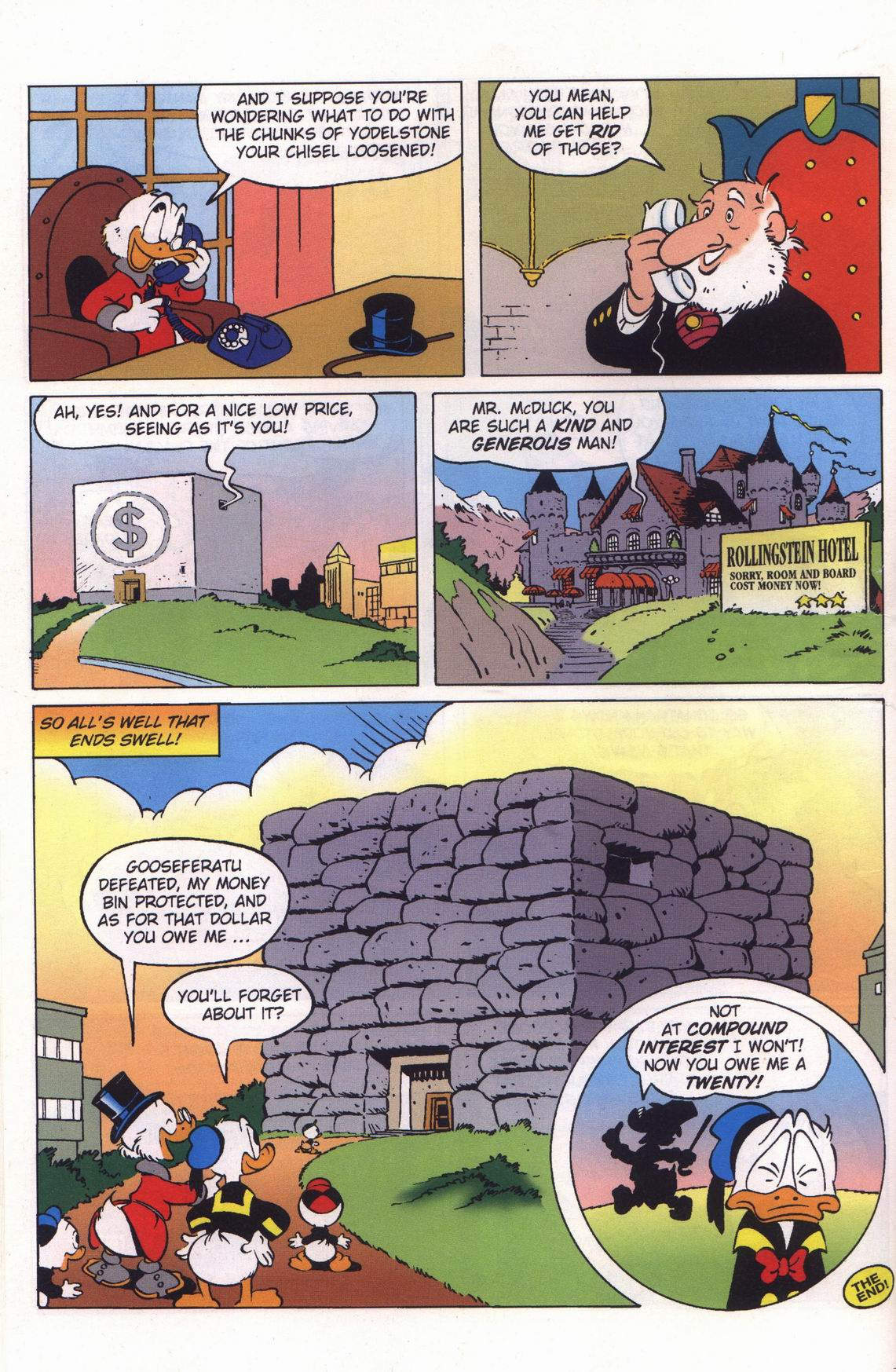 Read online Uncle Scrooge (1953) comic -  Issue #313 - 34