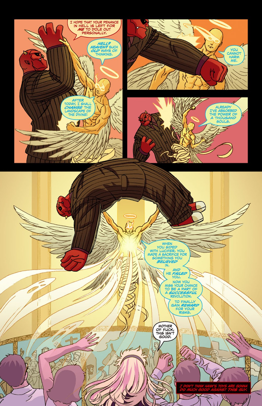 Read online Mercy Sparx (2008) comic -  Issue #4 - 13
