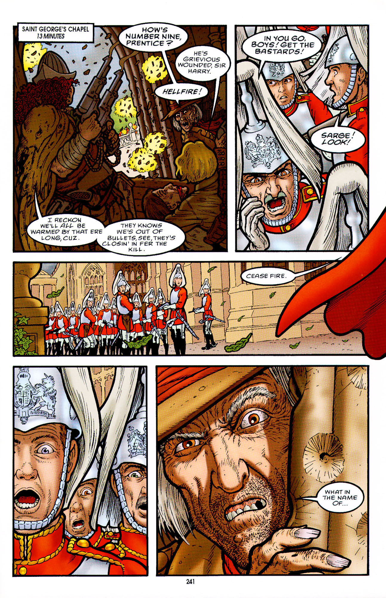 Read online Heart of Empire comic -  Issue #8 - 17