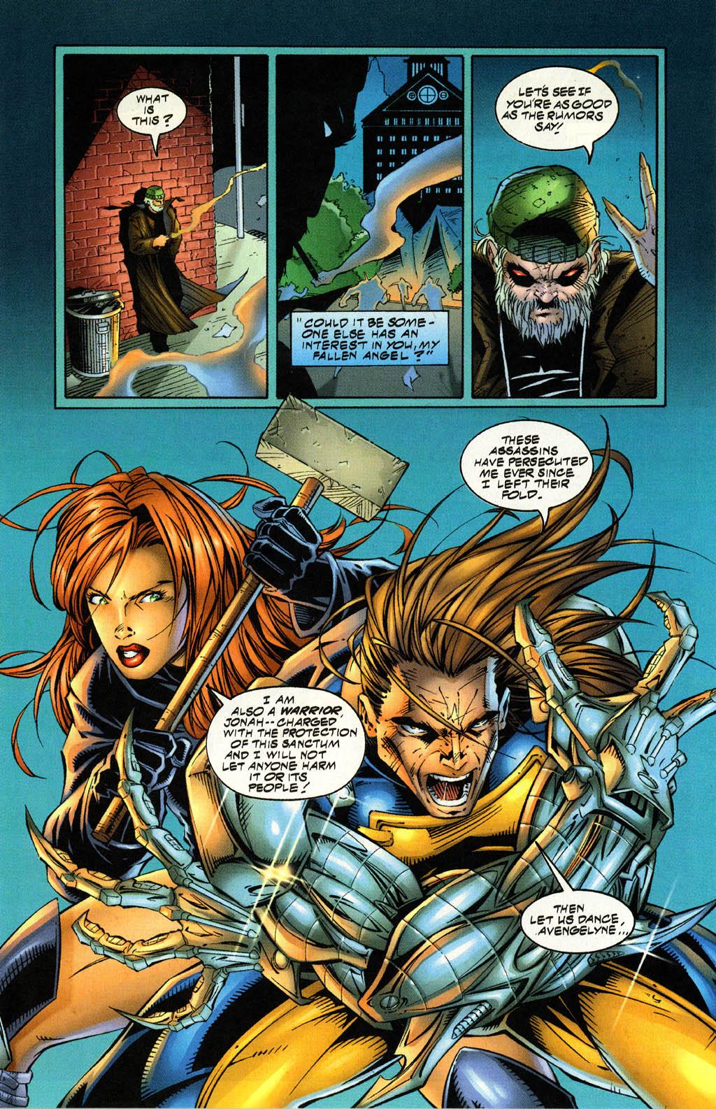 Read online Avengelyne (1996) comic -  Issue #4 - 10