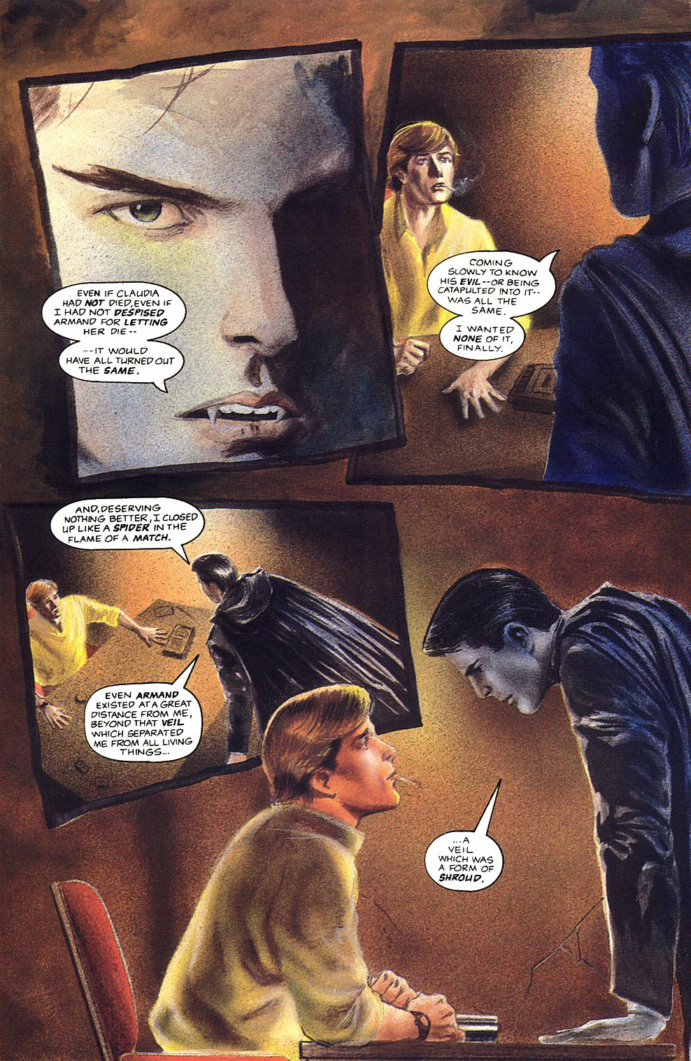 Read online Anne Rice's Interview with the Vampire comic -  Issue #12 - 7