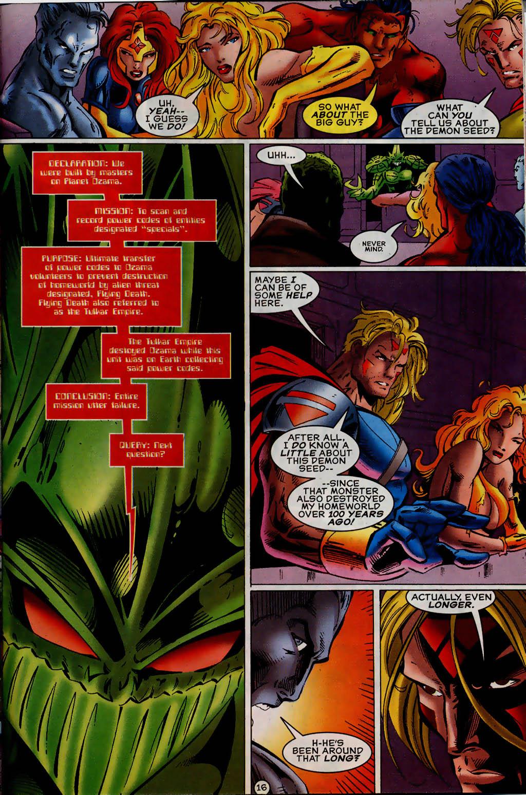 Read online UltraForce (1995) comic -  Issue #13 - 17