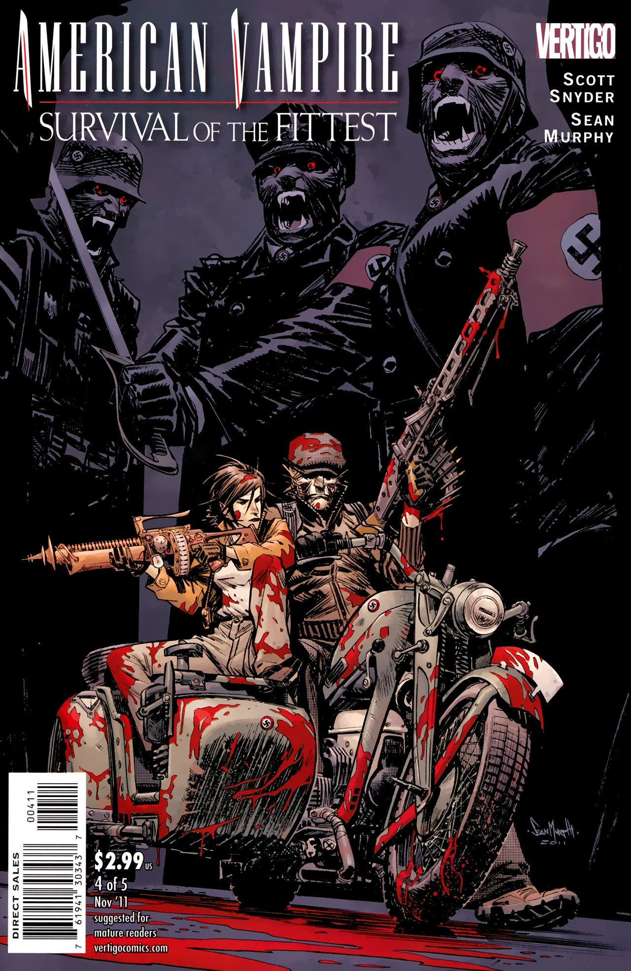 Read online American Vampire: Survival of the Fittest comic -  Issue #4 - 1