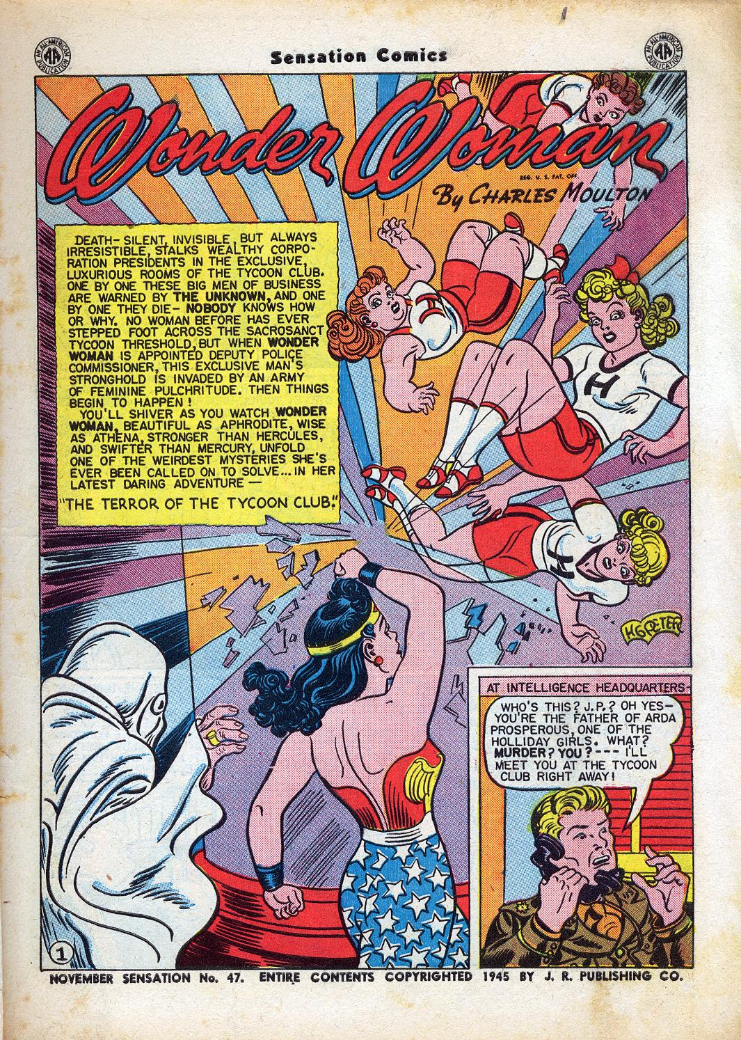 Read online Sensation (Mystery) Comics comic -  Issue #47 - 3