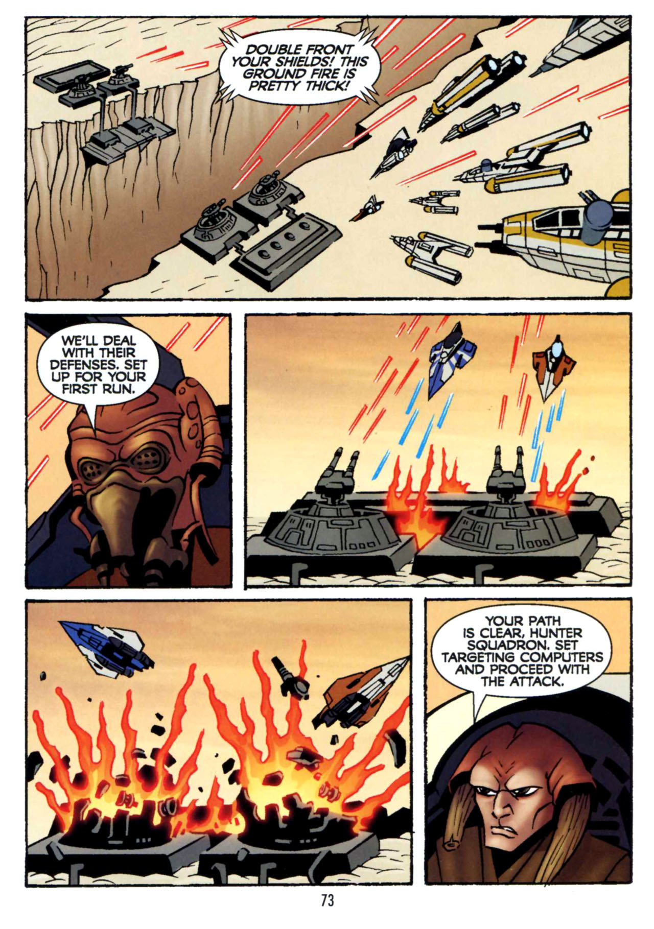 Read online Star Wars: The Clone Wars - Shipyards of Doom comic -  Issue # Full - 71