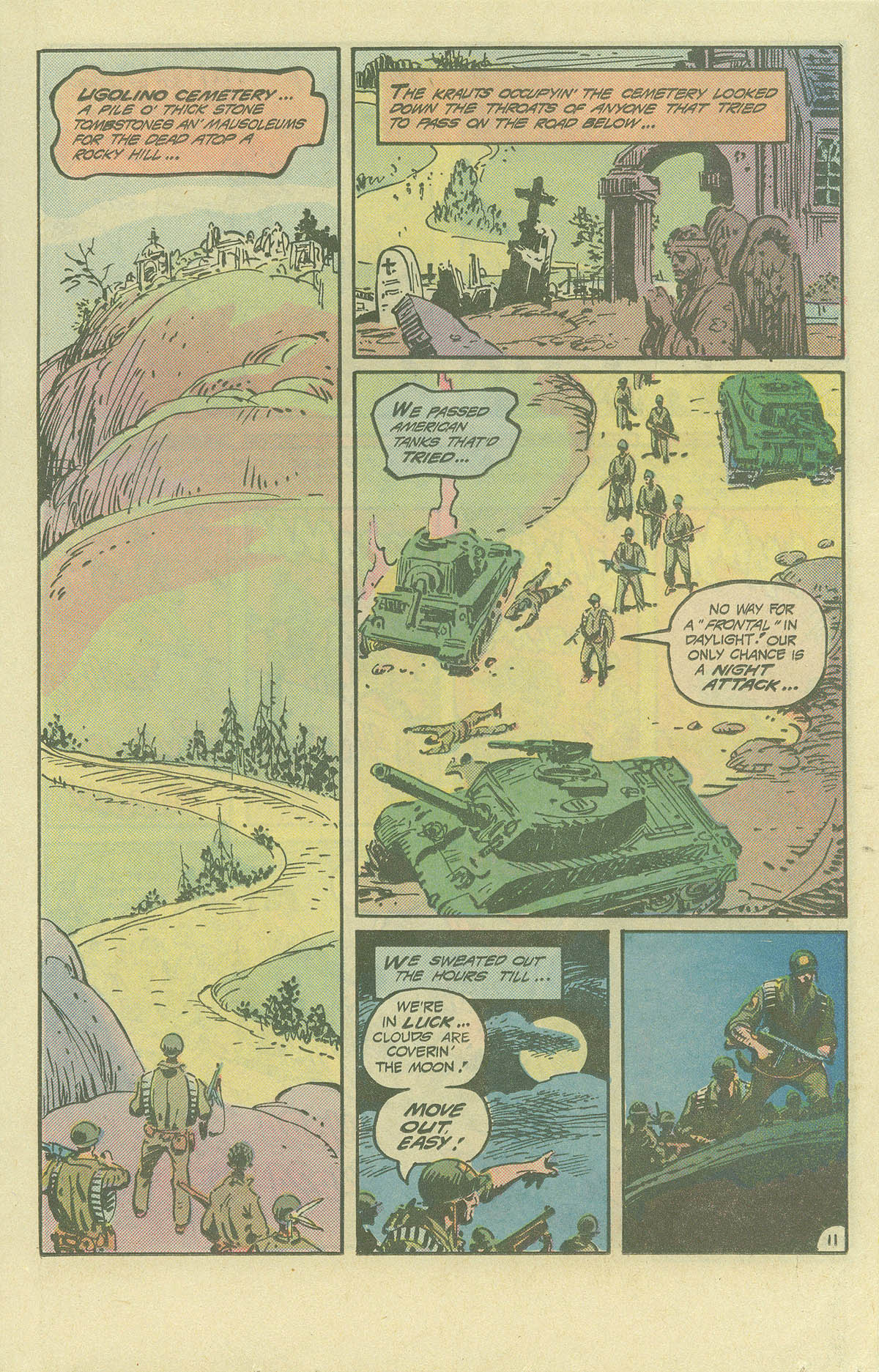 Read online Sgt. Rock comic -  Issue #393 - 11