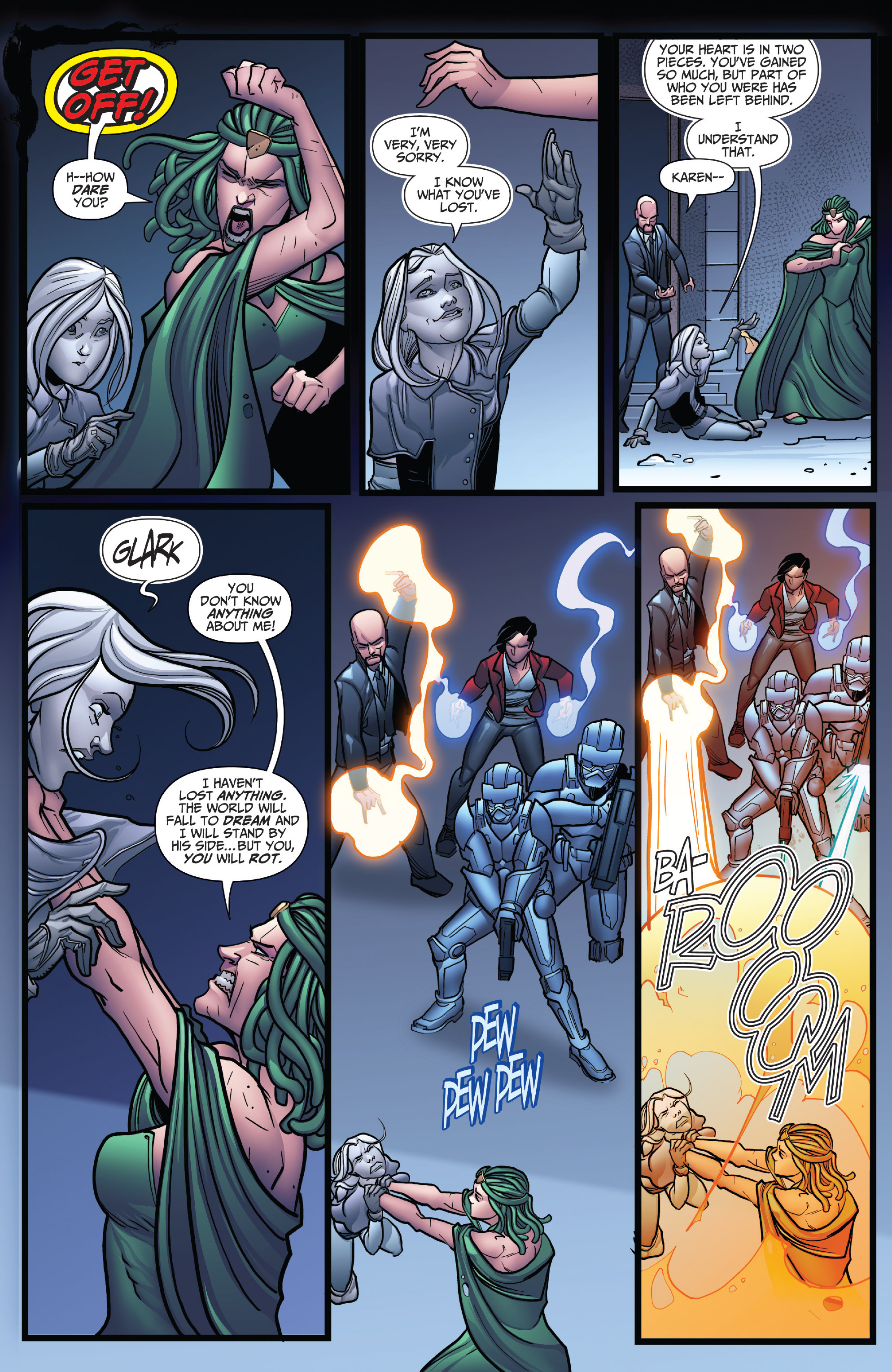 Read online Grimm Fairy Tales: Arcane Acre comic -  Issue # TPB 4 - 22