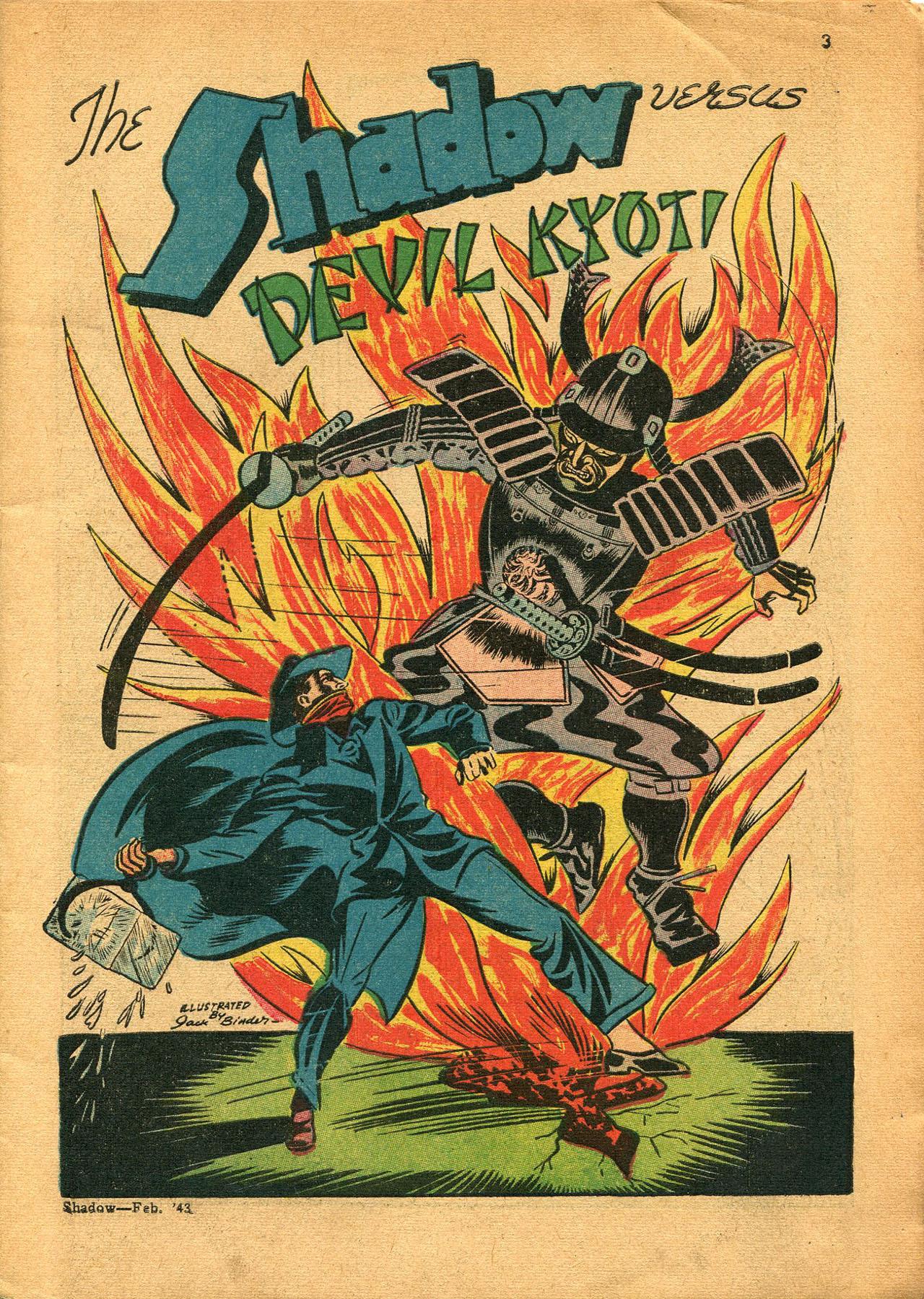Read online Shadow Comics comic -  Issue #23 - 3