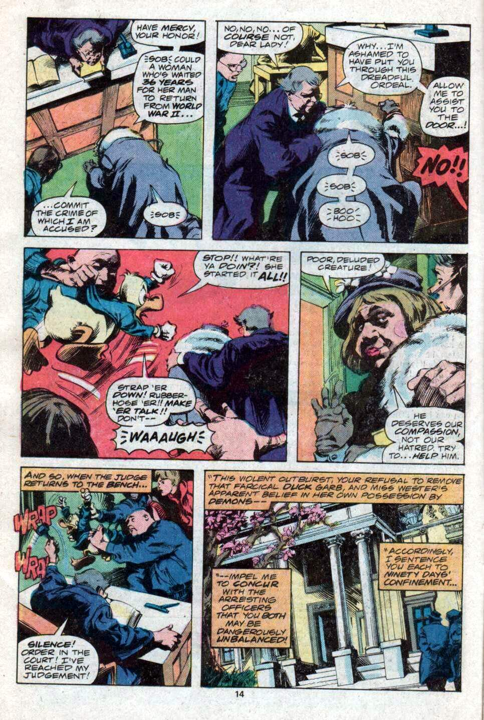 Howard the Duck (1976) Issue #12 #13 - English 9
