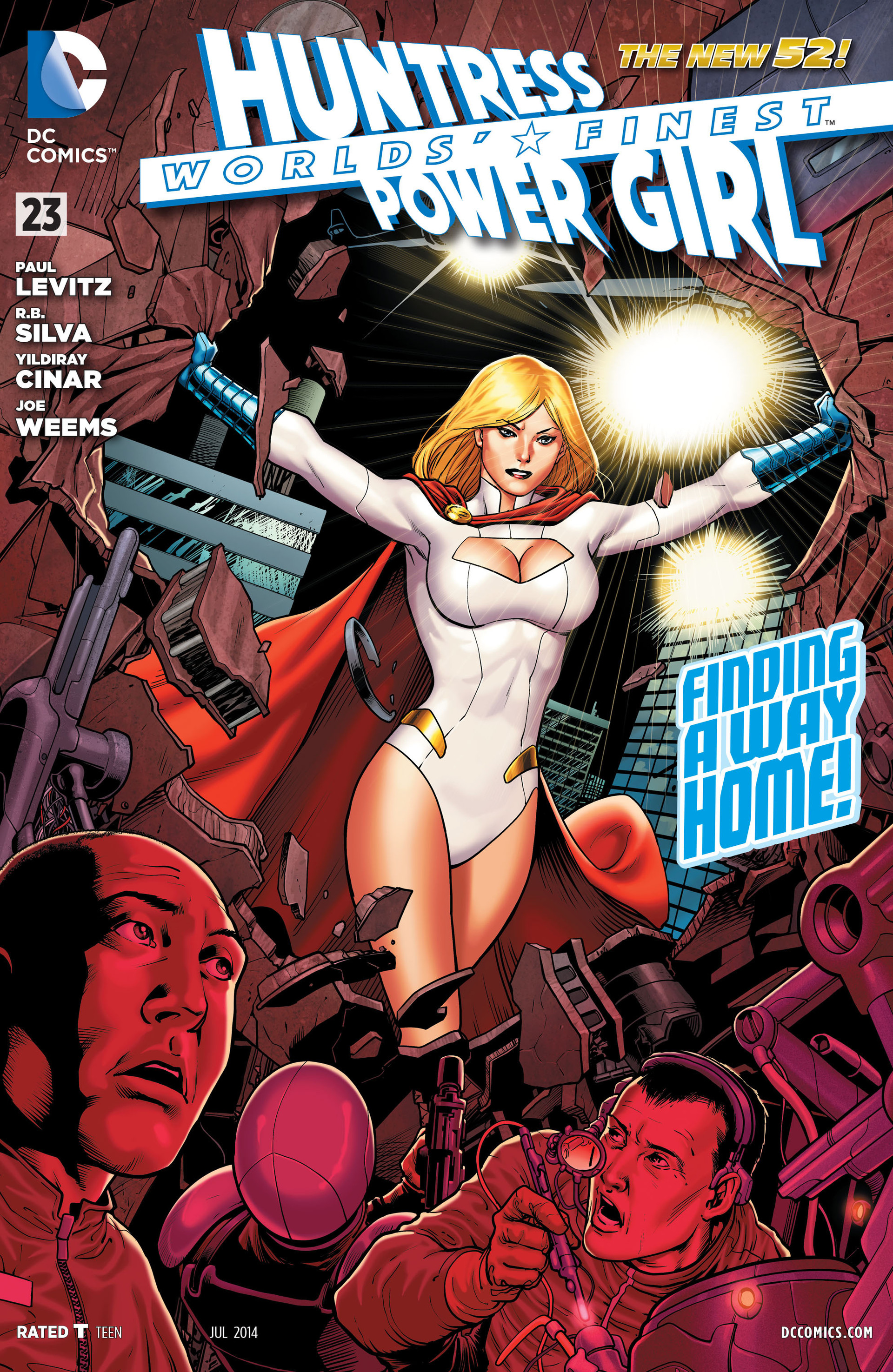 Read online Worlds' Finest comic -  Issue #23 - 1