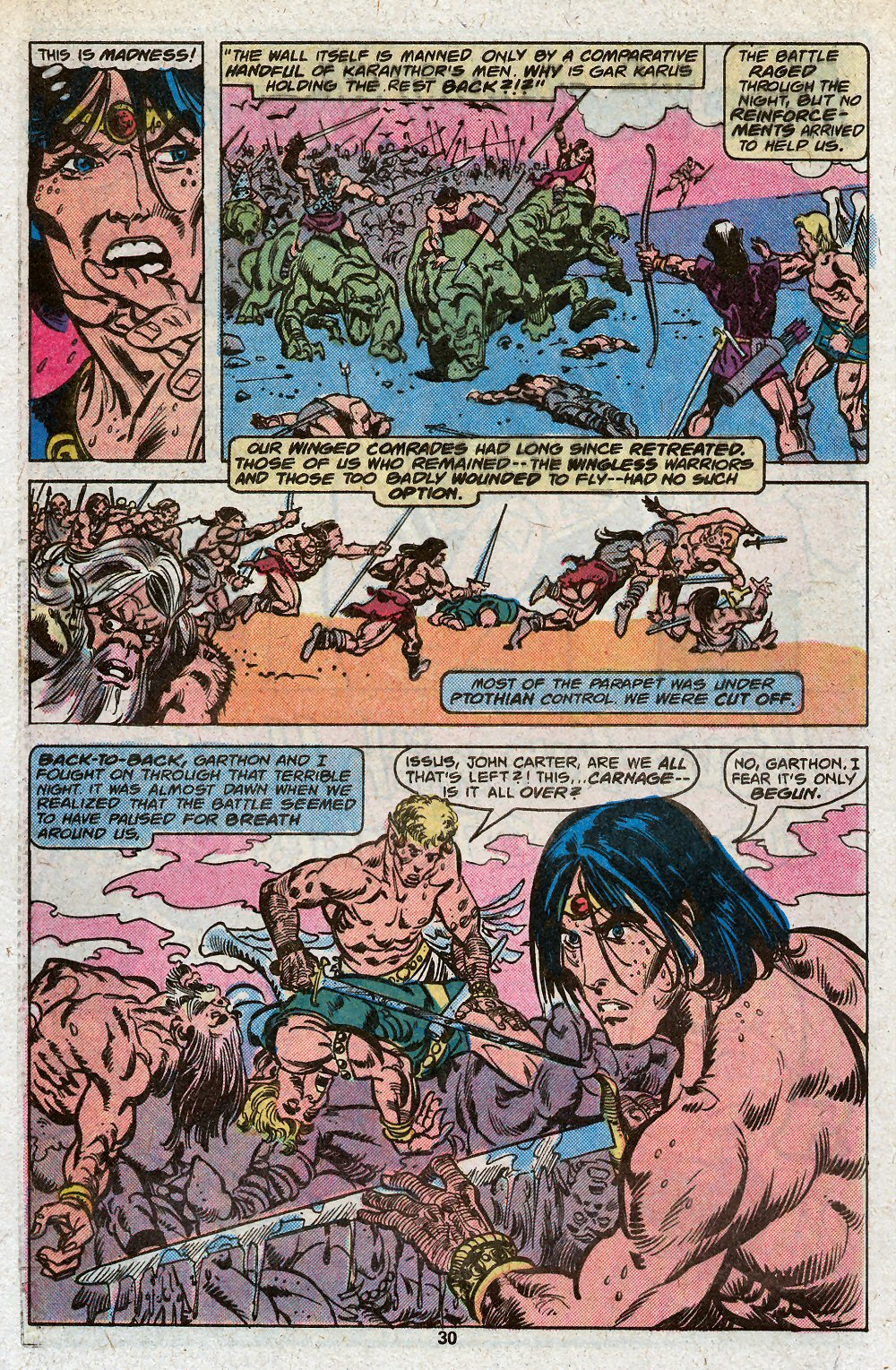 John Carter Warlord of Mars issue 19 - Page 32