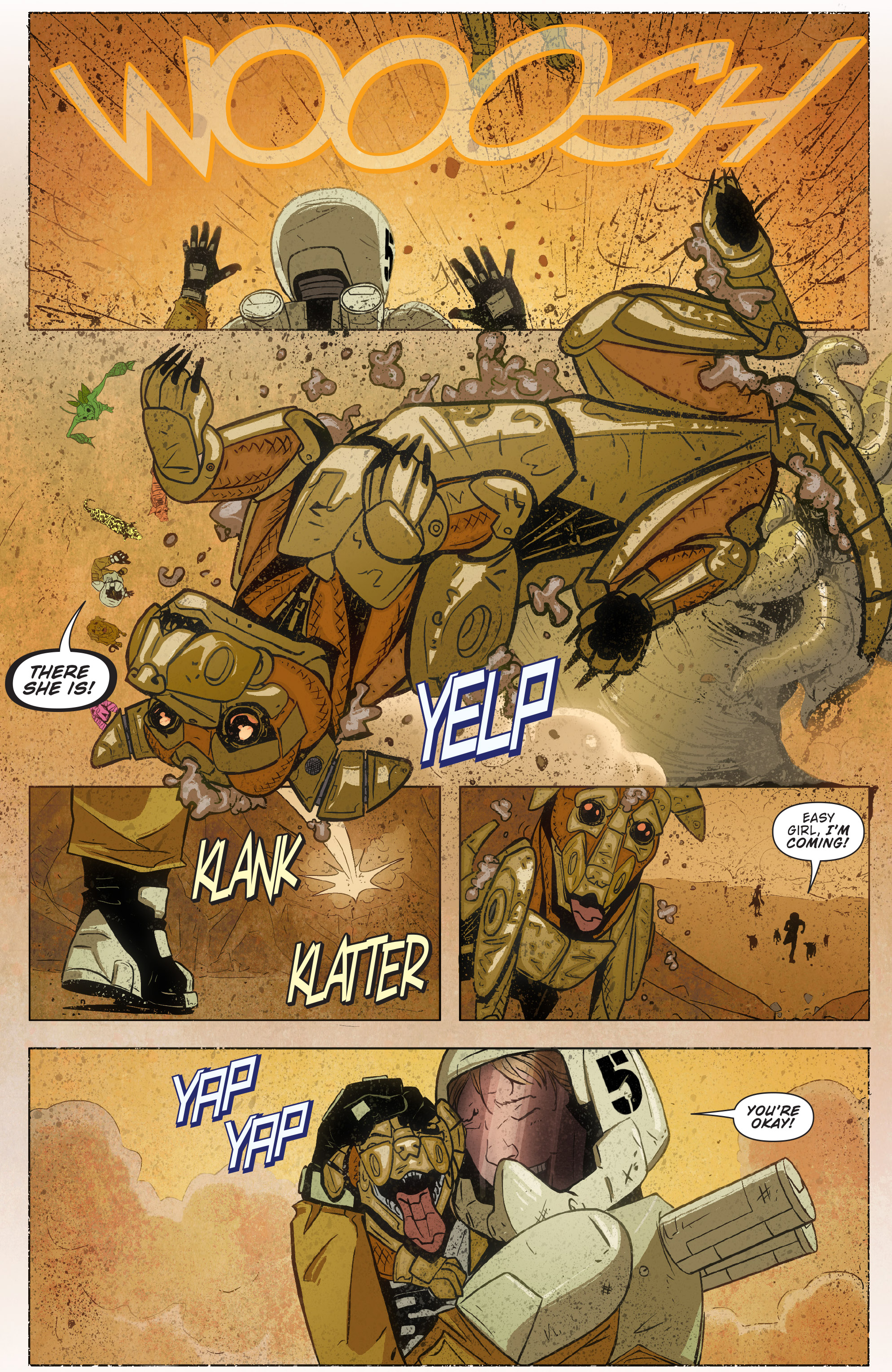 Read online Red Dog comic -  Issue #4 - 5