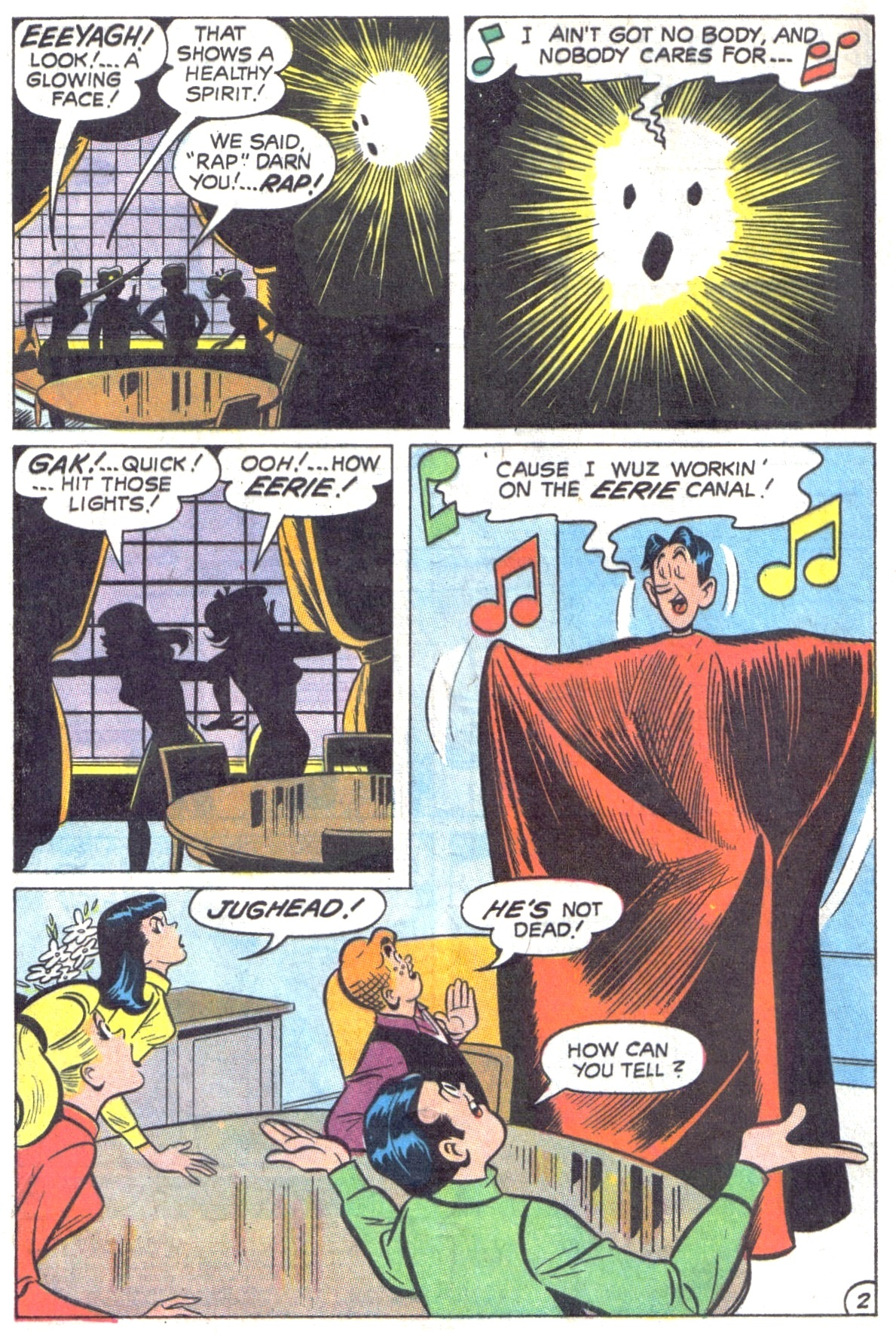 Read online Archie (1960) comic -  Issue #190 - 4