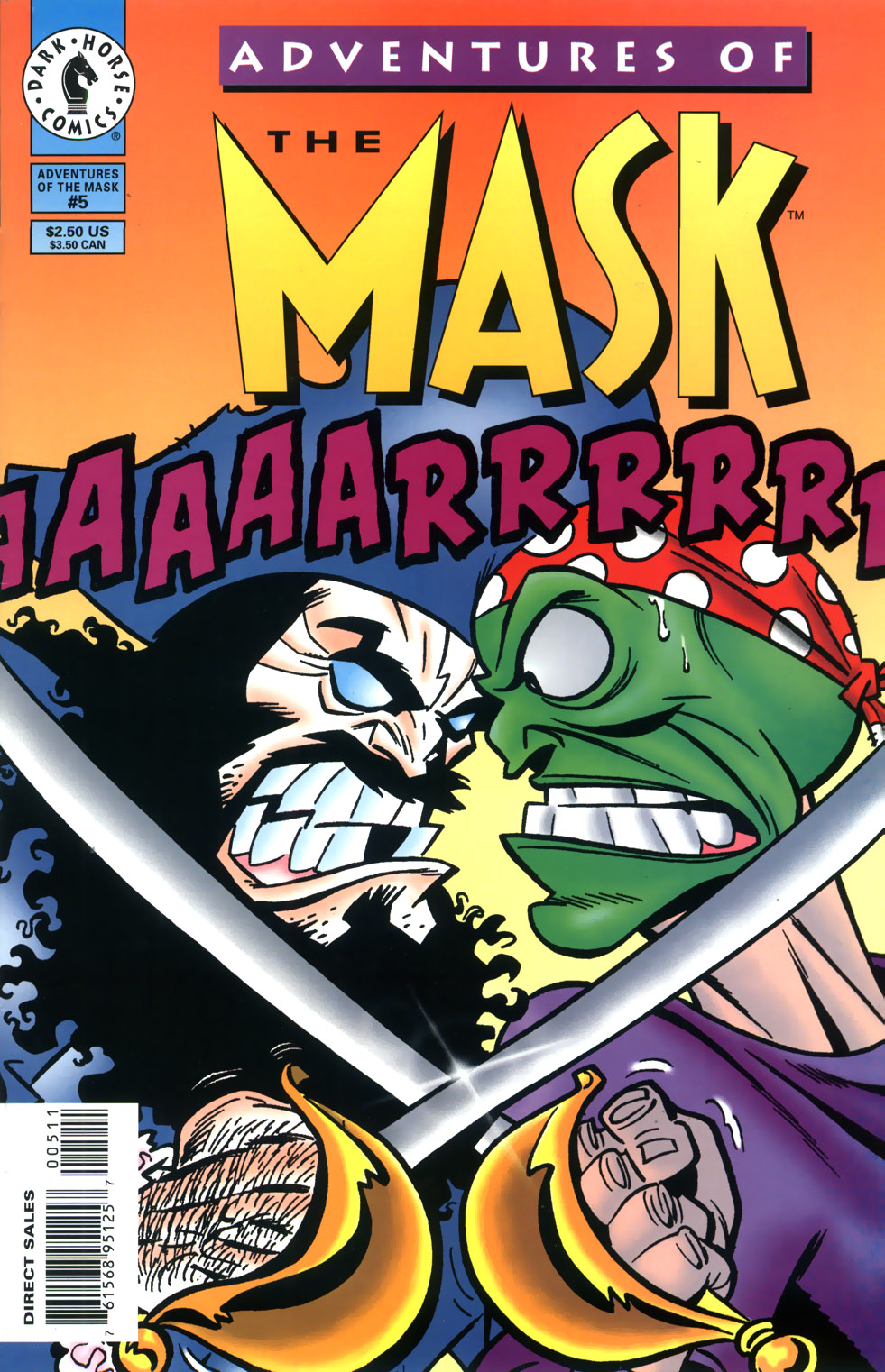 Read online Adventures Of The Mask comic -  Issue #5 - 1