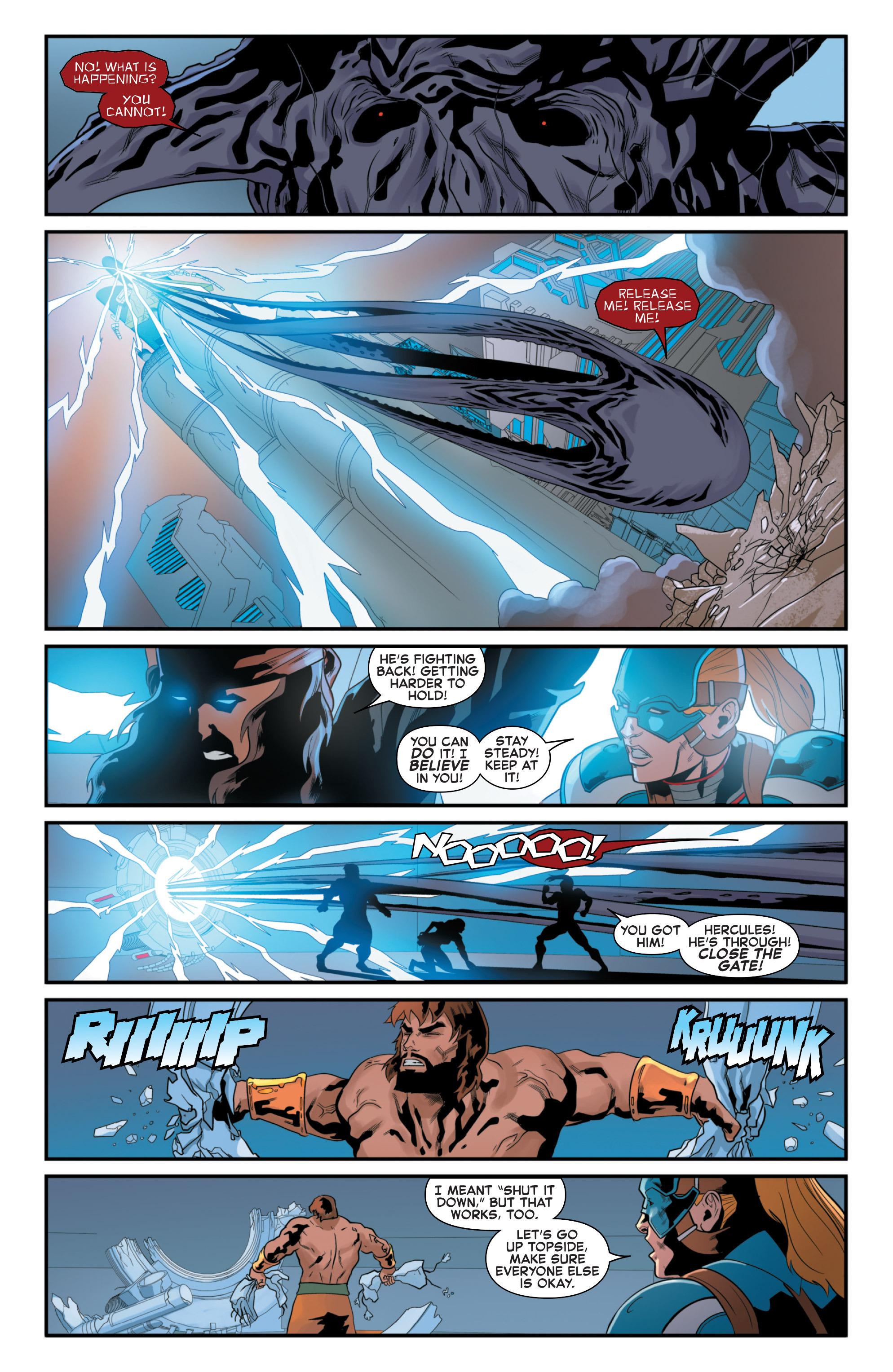 Read online Secret Wars 2099 comic -  Issue #5 - 19