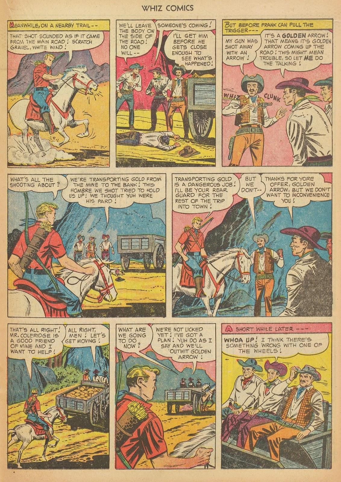 Read online WHIZ Comics comic -  Issue #153 - 19