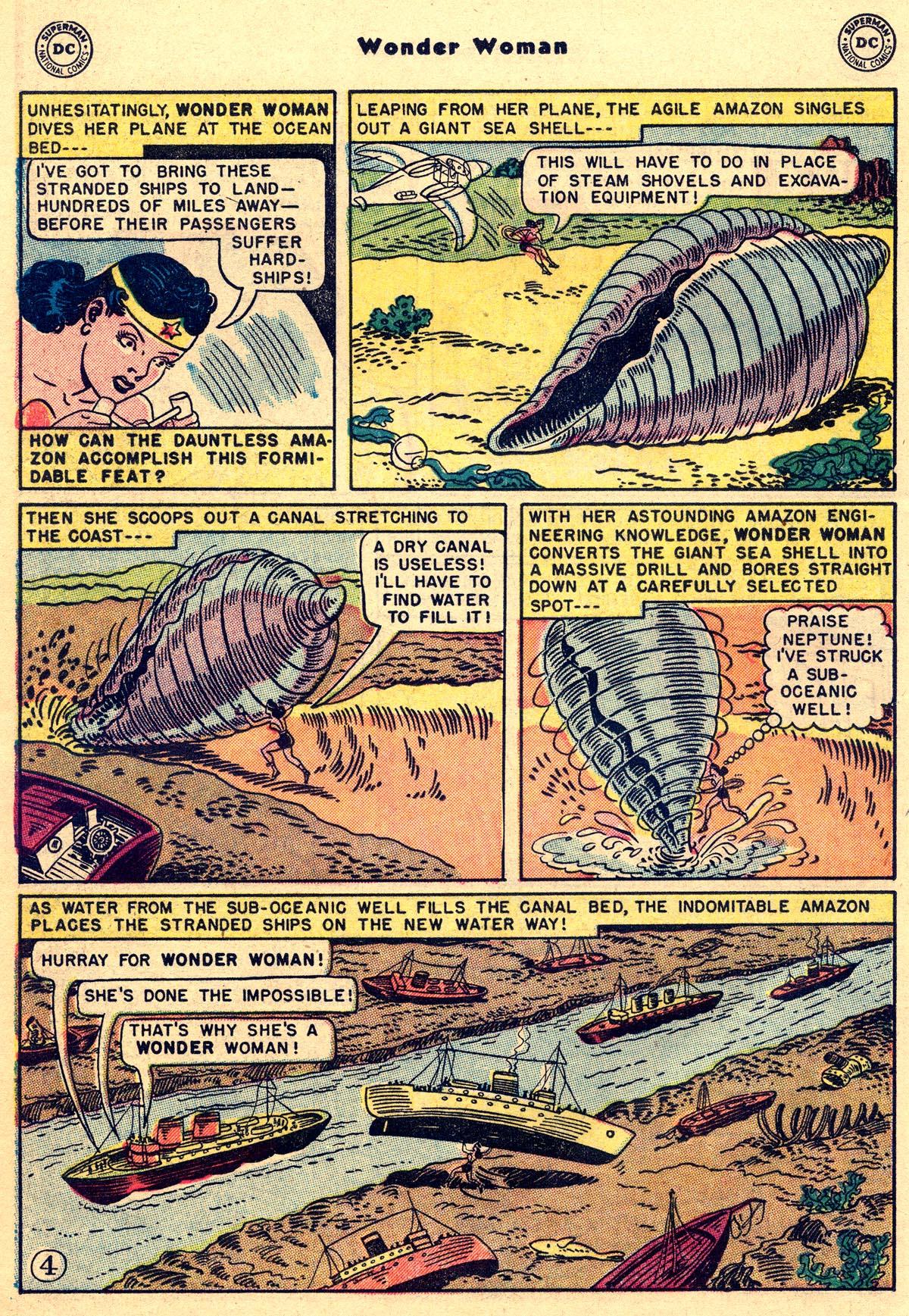 Read online Wonder Woman (1942) comic -  Issue #55 - 18