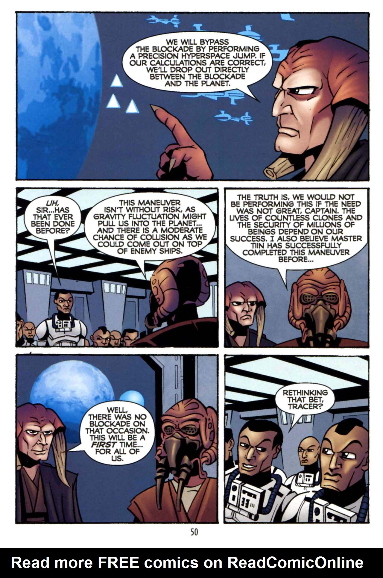 Read online Star Wars: The Clone Wars - Shipyards of Doom comic -  Issue # Full - 48