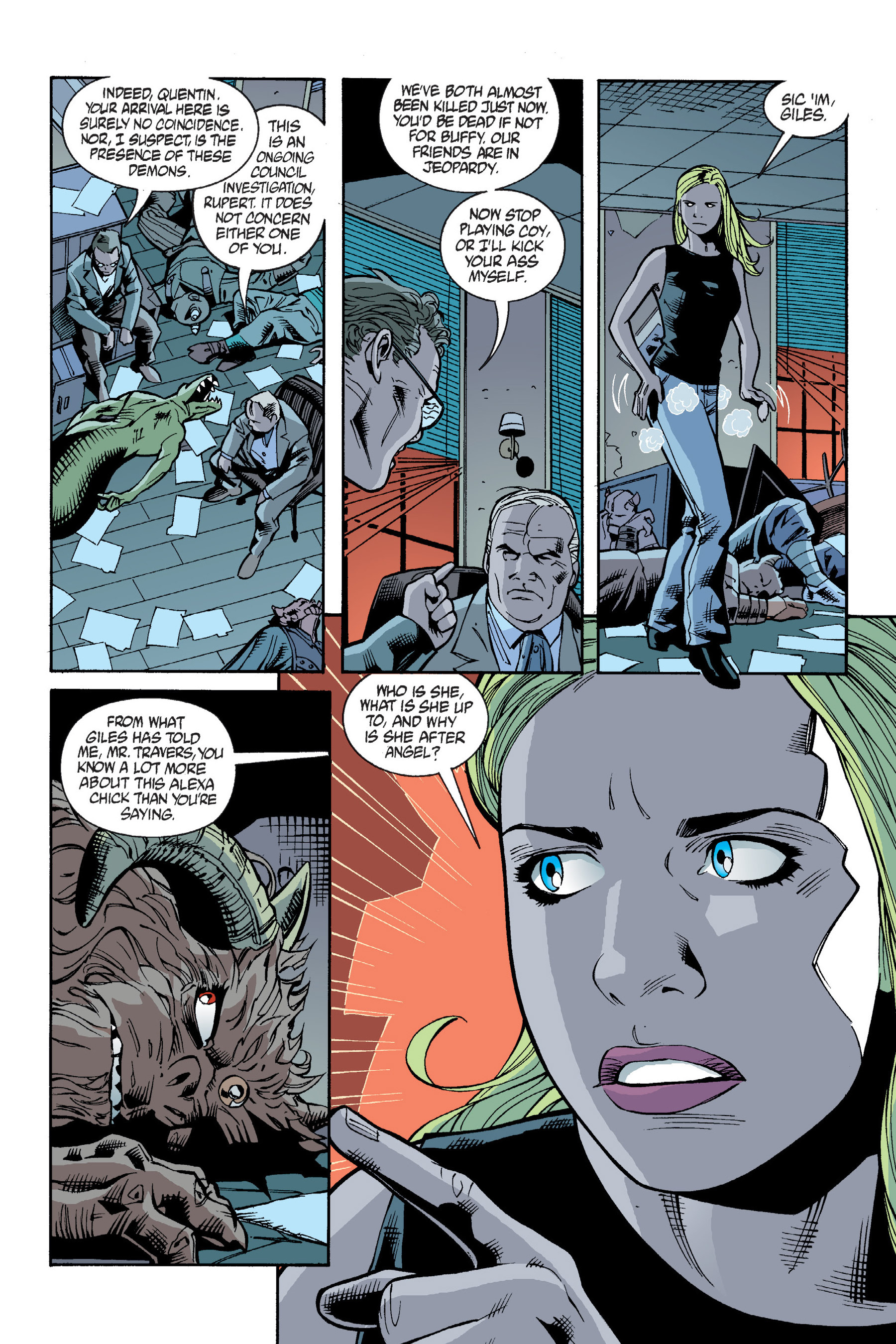 Read online Buffy the Vampire Slayer: Omnibus comic -  Issue # TPB 6 - 144