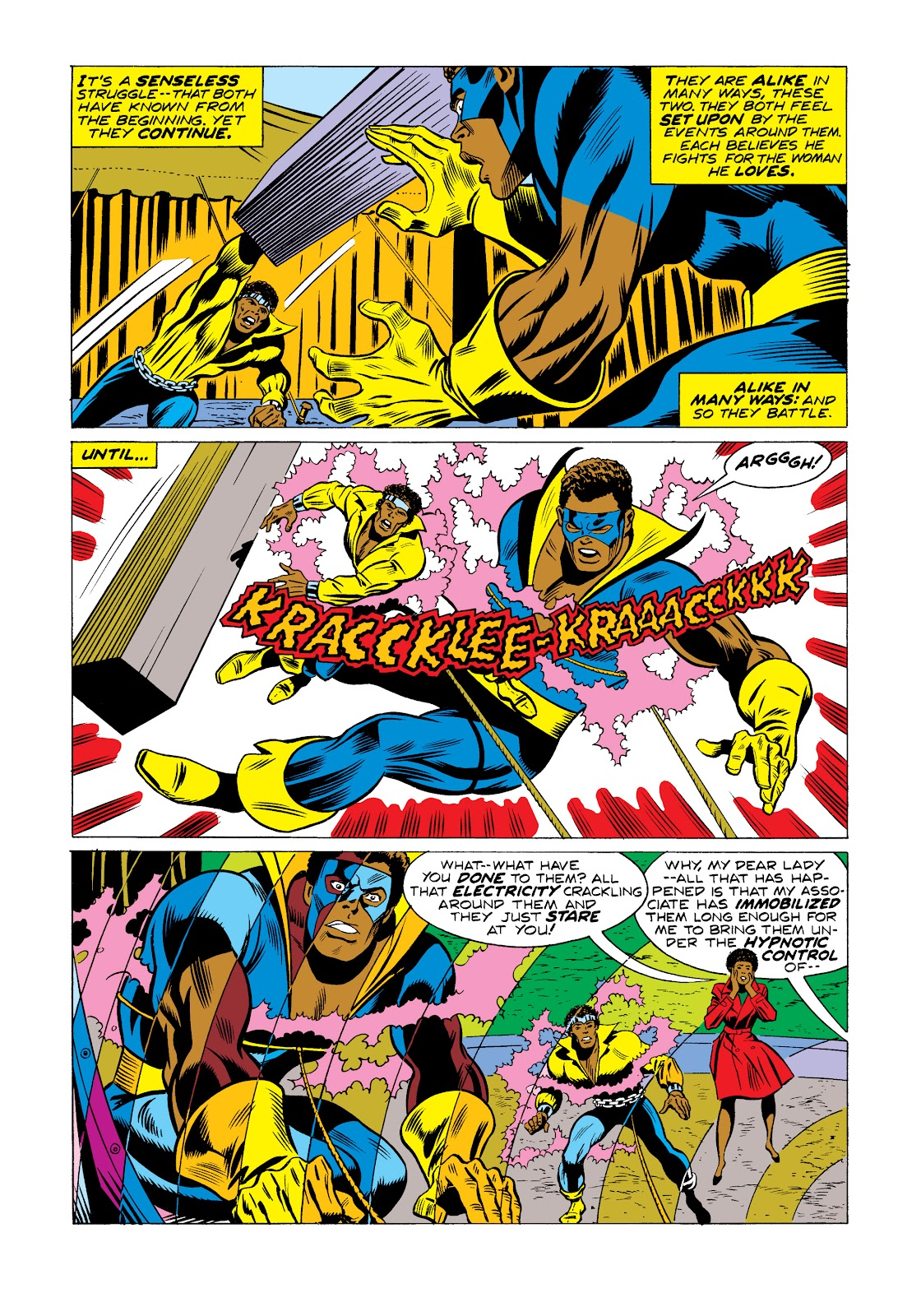 Read online Marvel Masterworks: Luke Cage, Power Man comic -  Issue # TPB 2 (Part 2) - 59