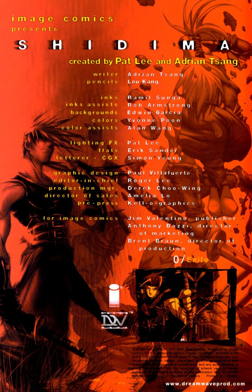 Read online Shidima comic -  Issue #0 - 2