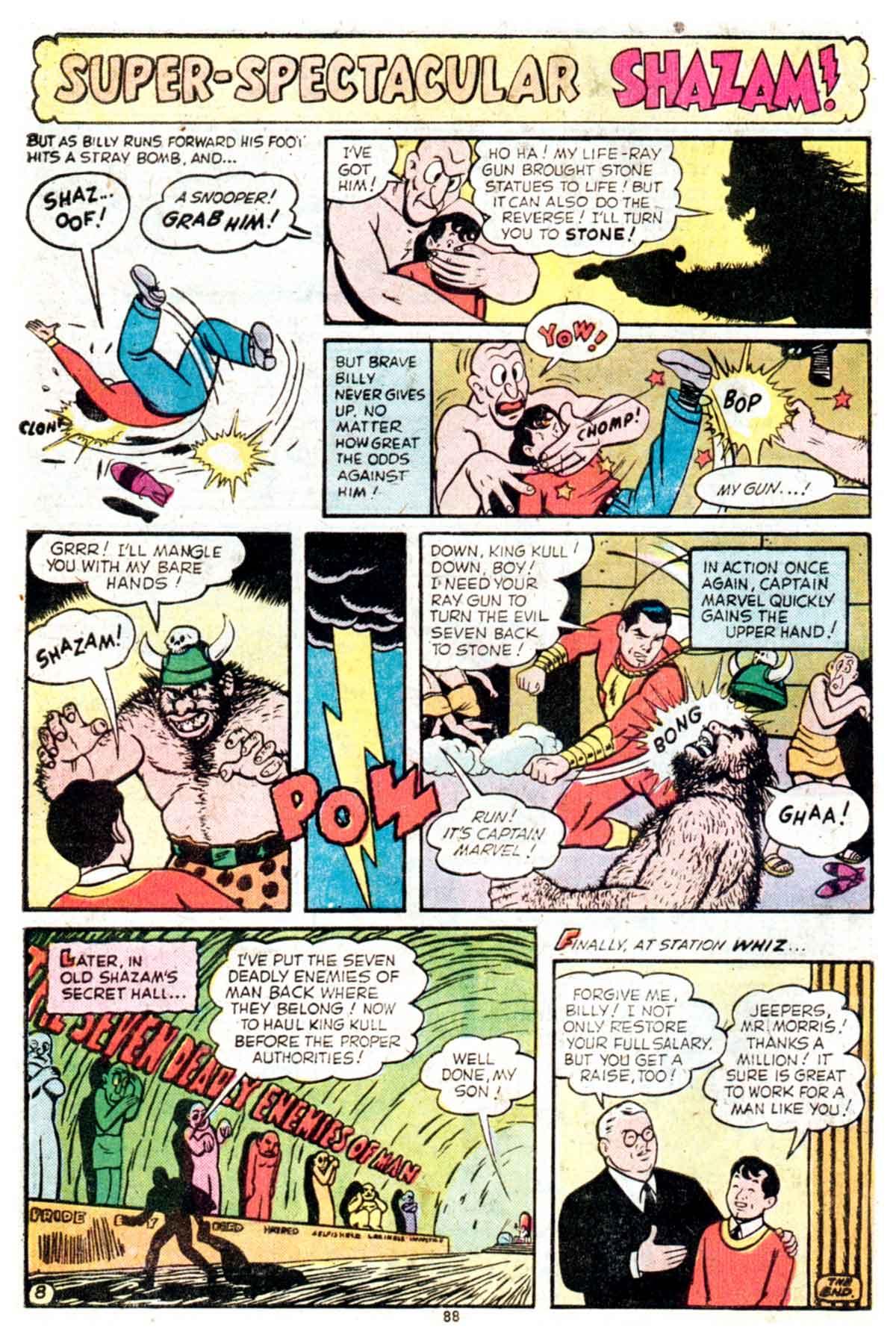 Read online Shazam! (1973) comic -  Issue #16 - 88