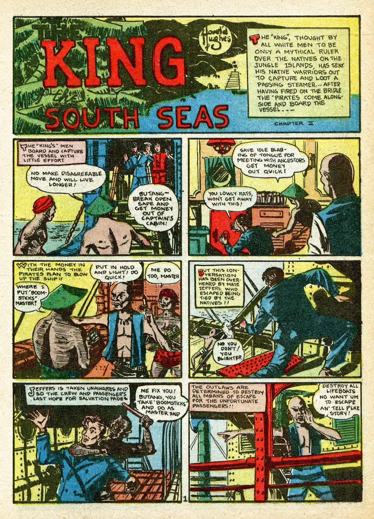 Read online Amazing Man Comics comic -  Issue #8 - 17