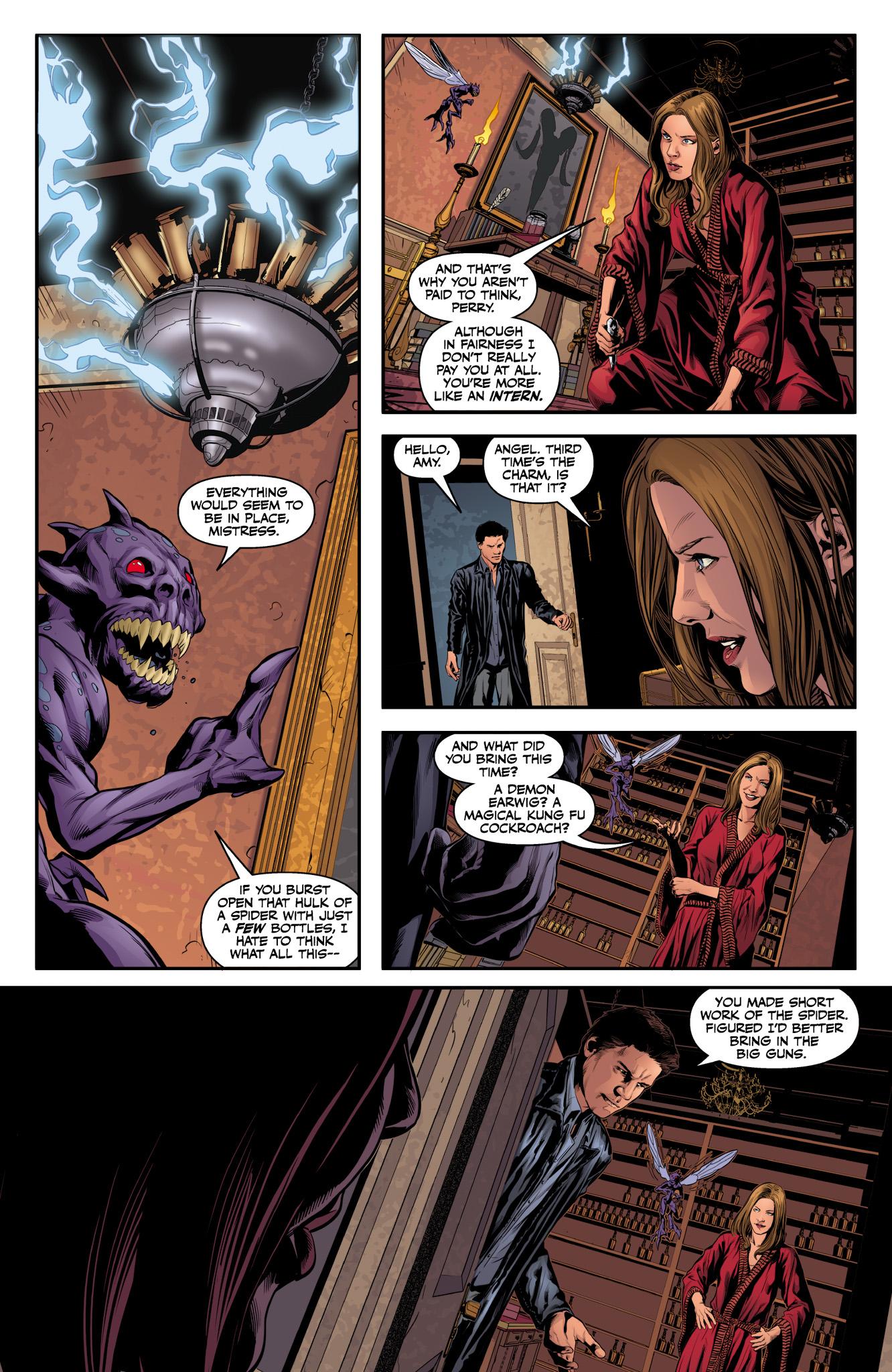 Read online Angel & Faith Season 10 comic -  Issue #10 - 17