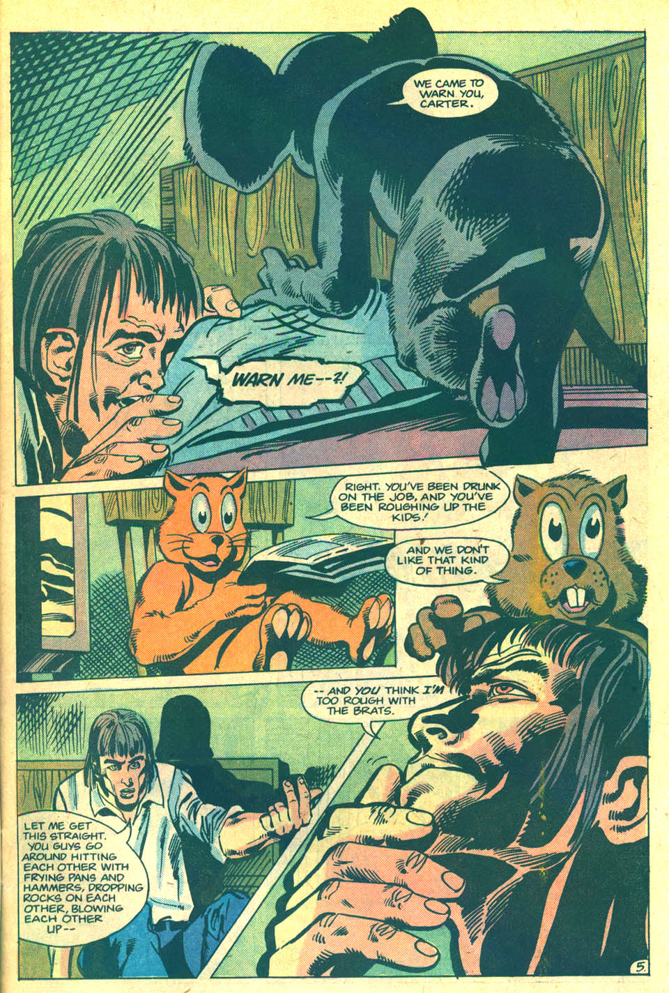 Elvira's House of Mystery Issue #5 #6 - English 8