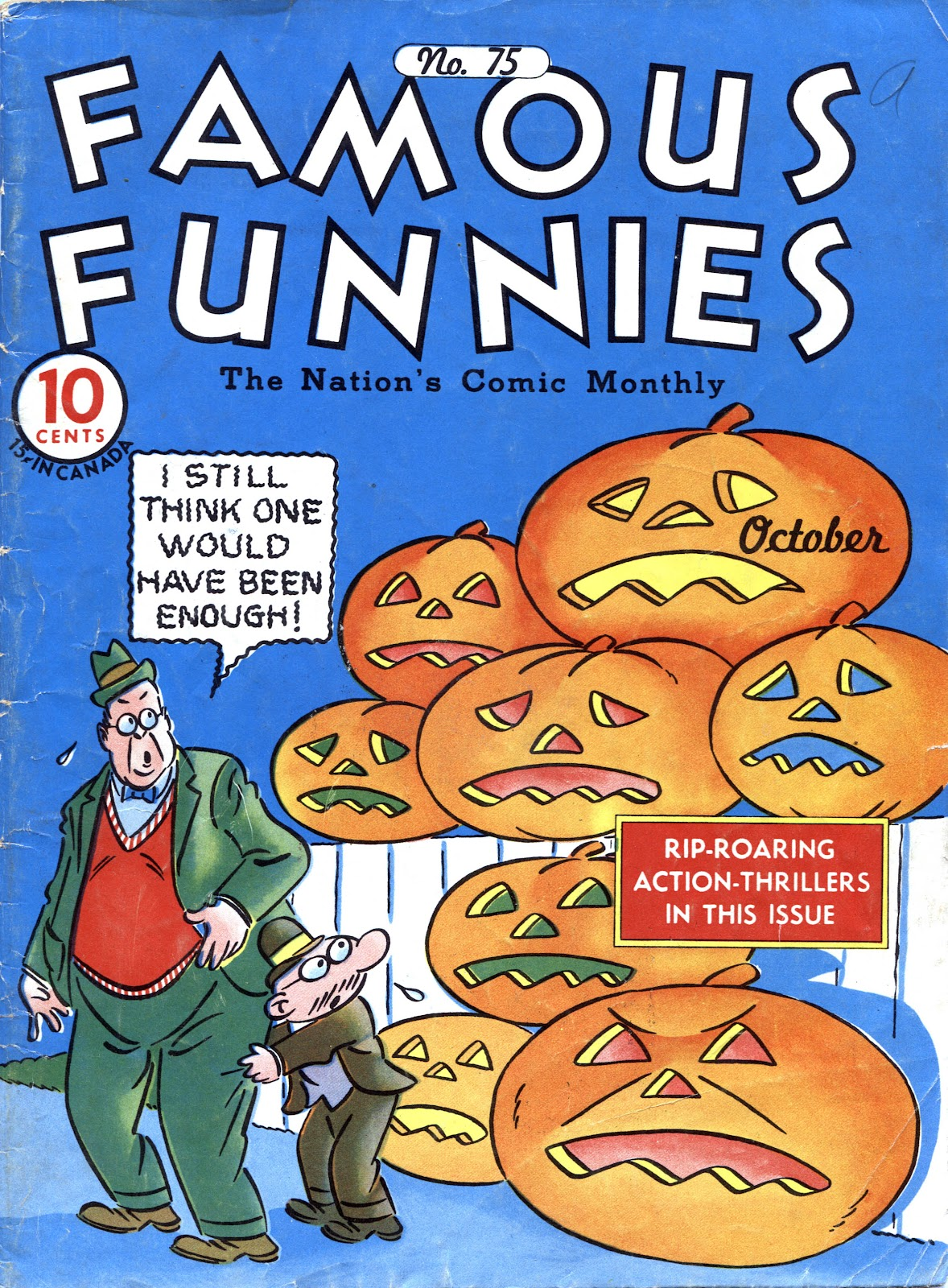 Read online Famous Funnies comic -  Issue #75 - 1